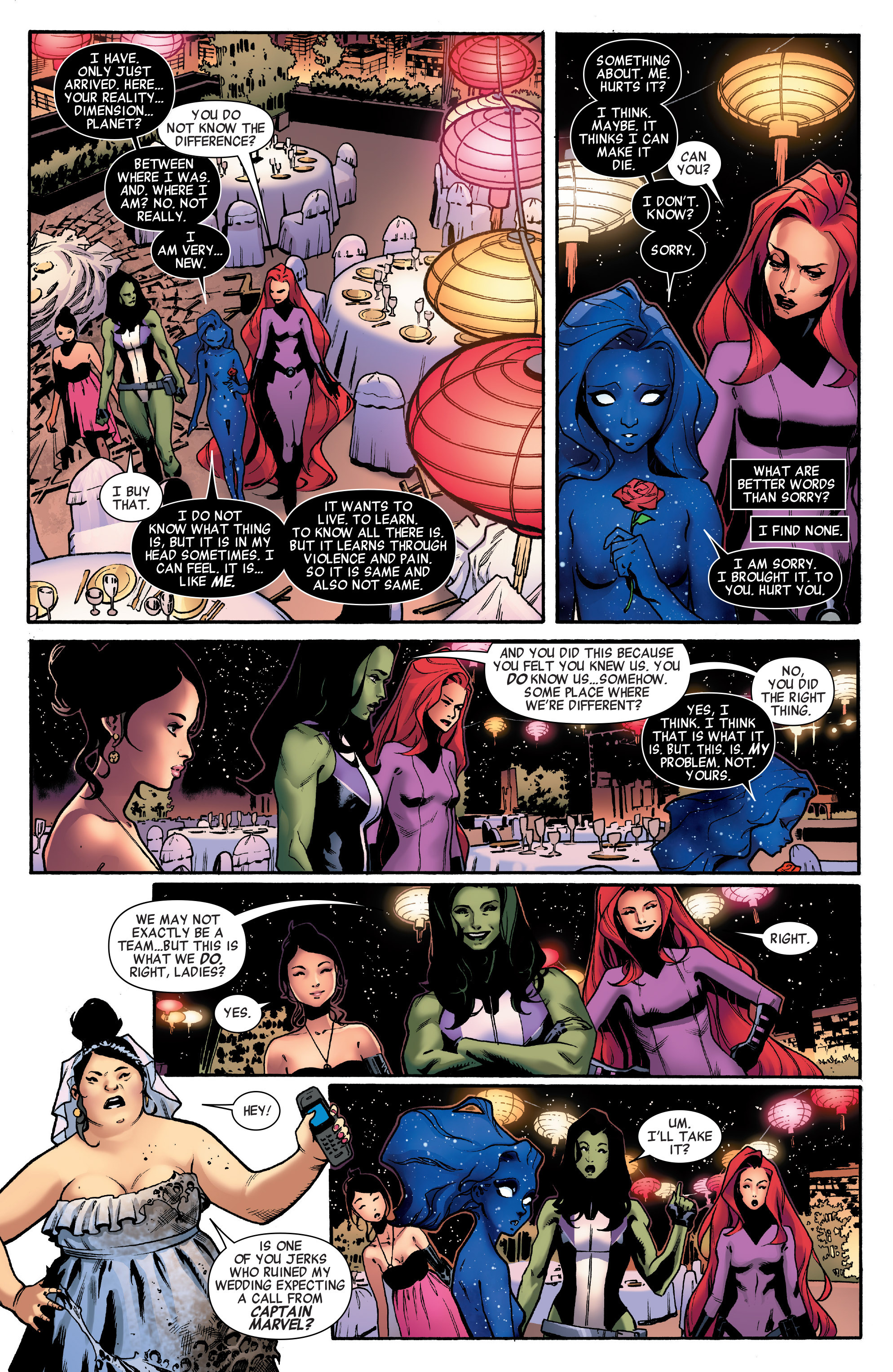 Read online A-Force (2016) comic -  Issue #2 - 17