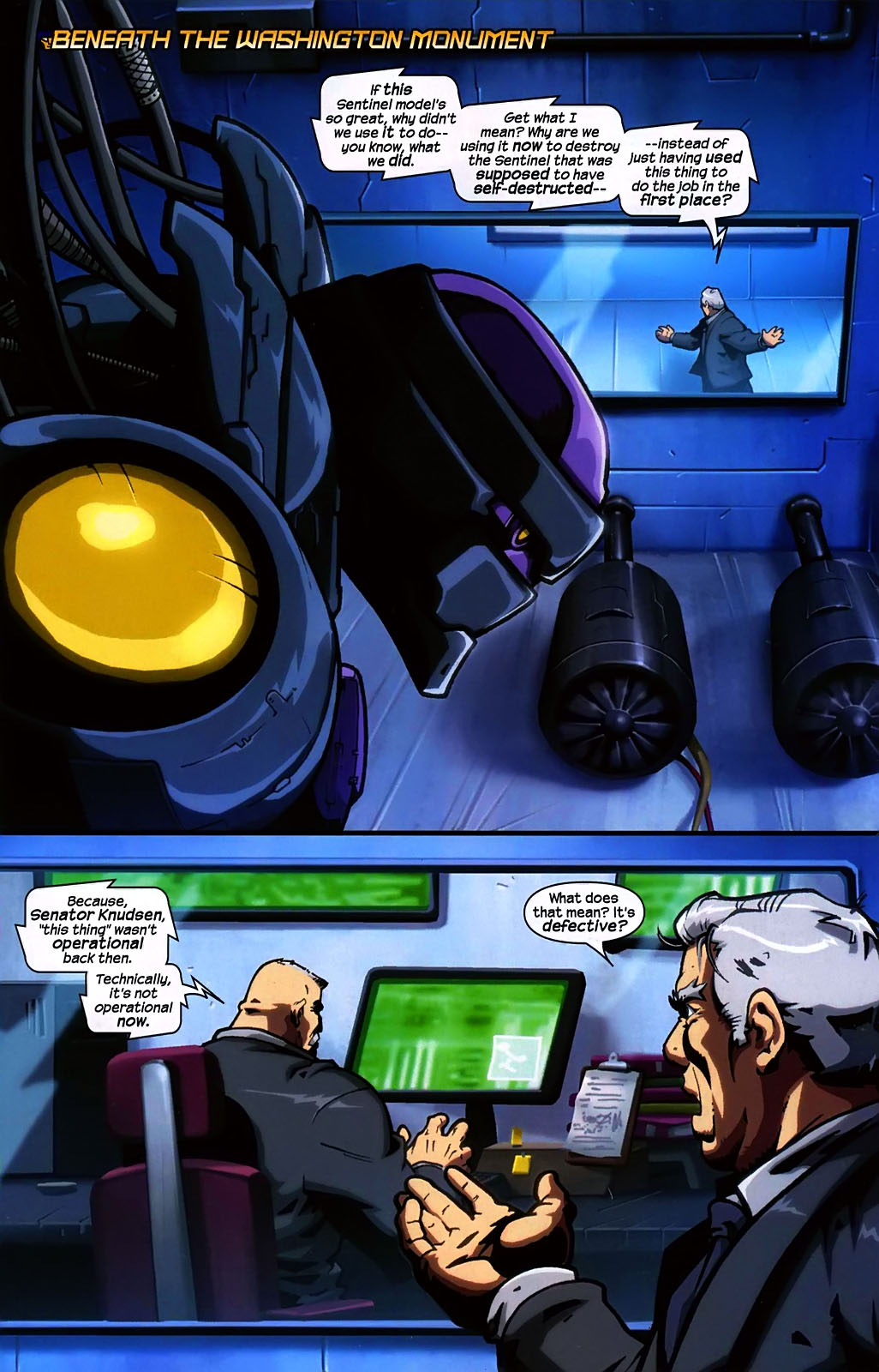 Read online Sentinel (2006) comic -  Issue #2 - 8