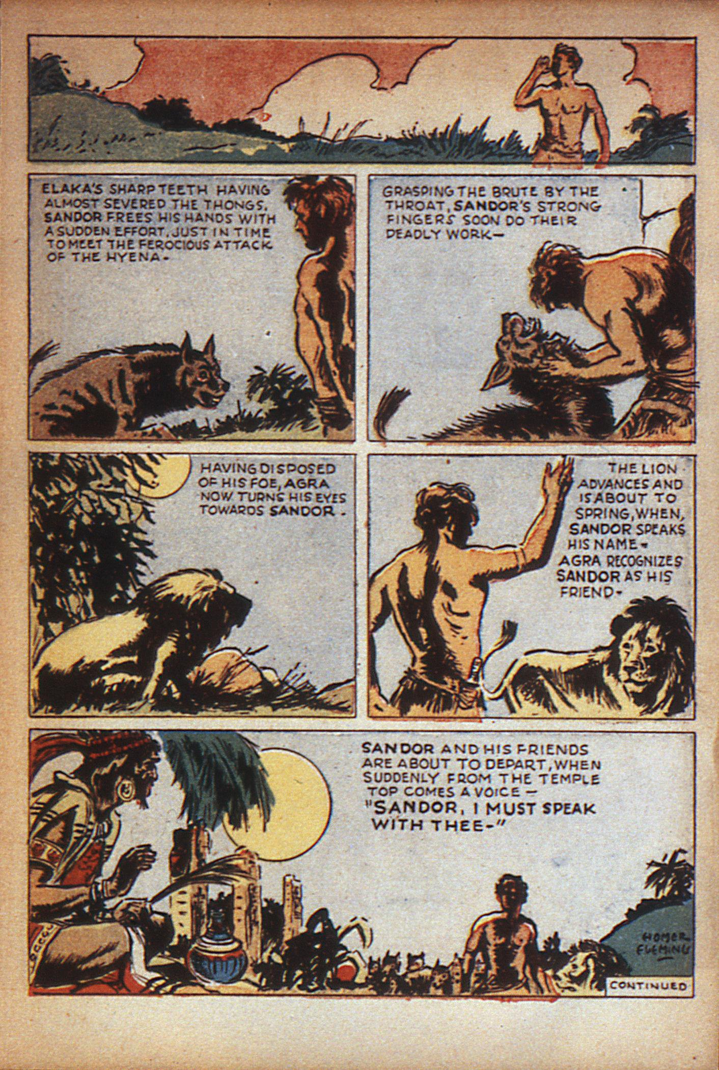 Read online Adventure Comics (1938) comic -  Issue #7 - 20