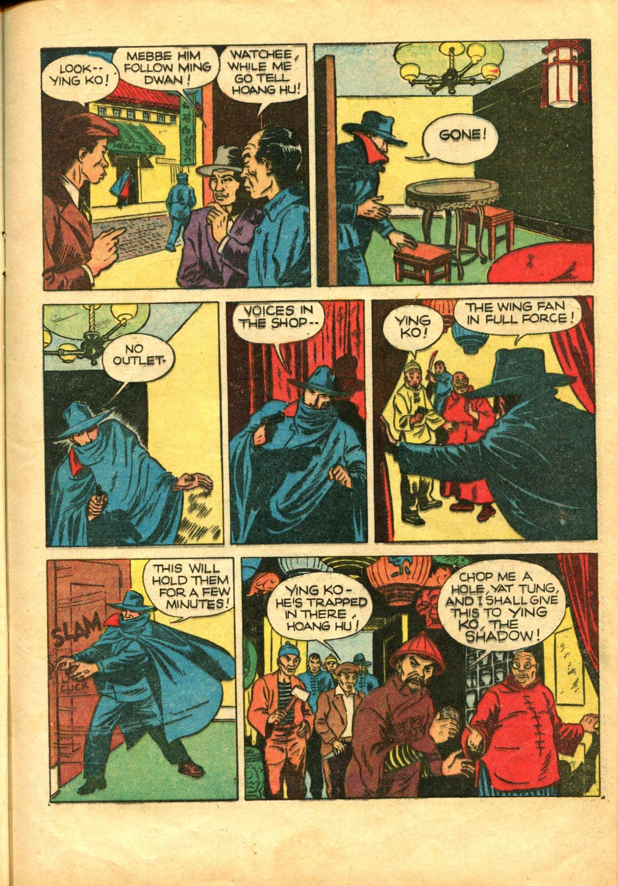 Read online Shadow Comics comic -  Issue #10 - 15