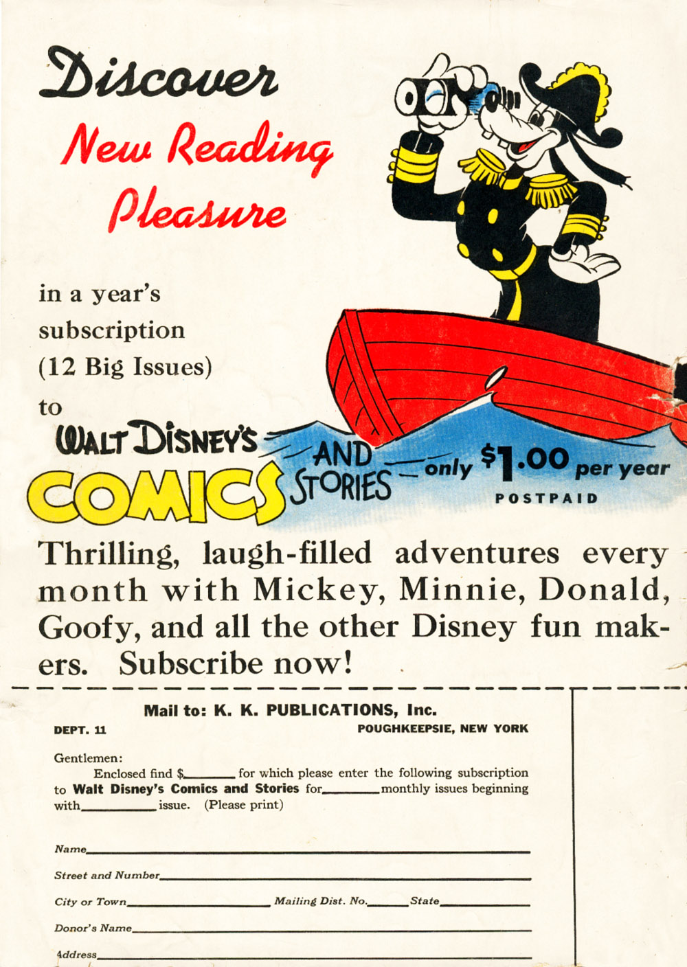 Walt Disney's Comics and Stories issue 38 - Page 68