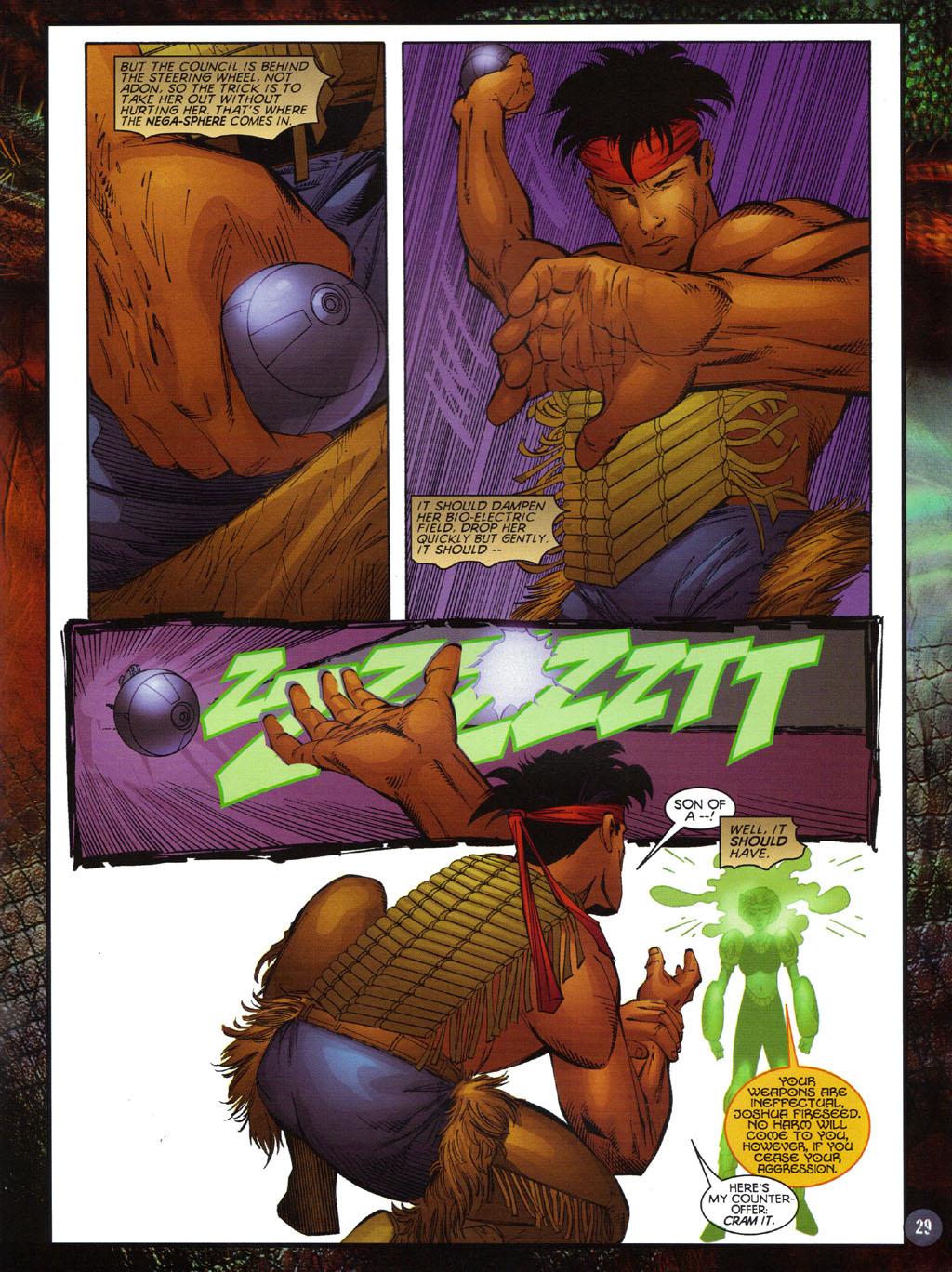 Read online Turok 2: Adon's Curse comic -  Issue # Full - 30