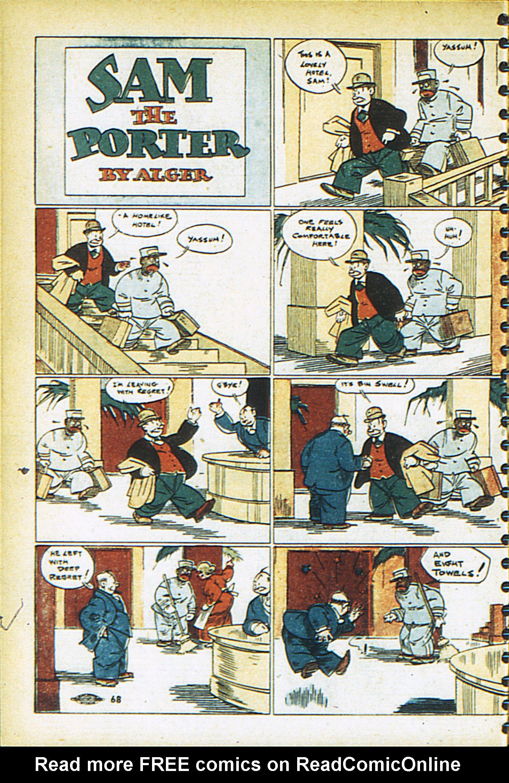 Read online Adventure Comics (1938) comic -  Issue #26 - 67