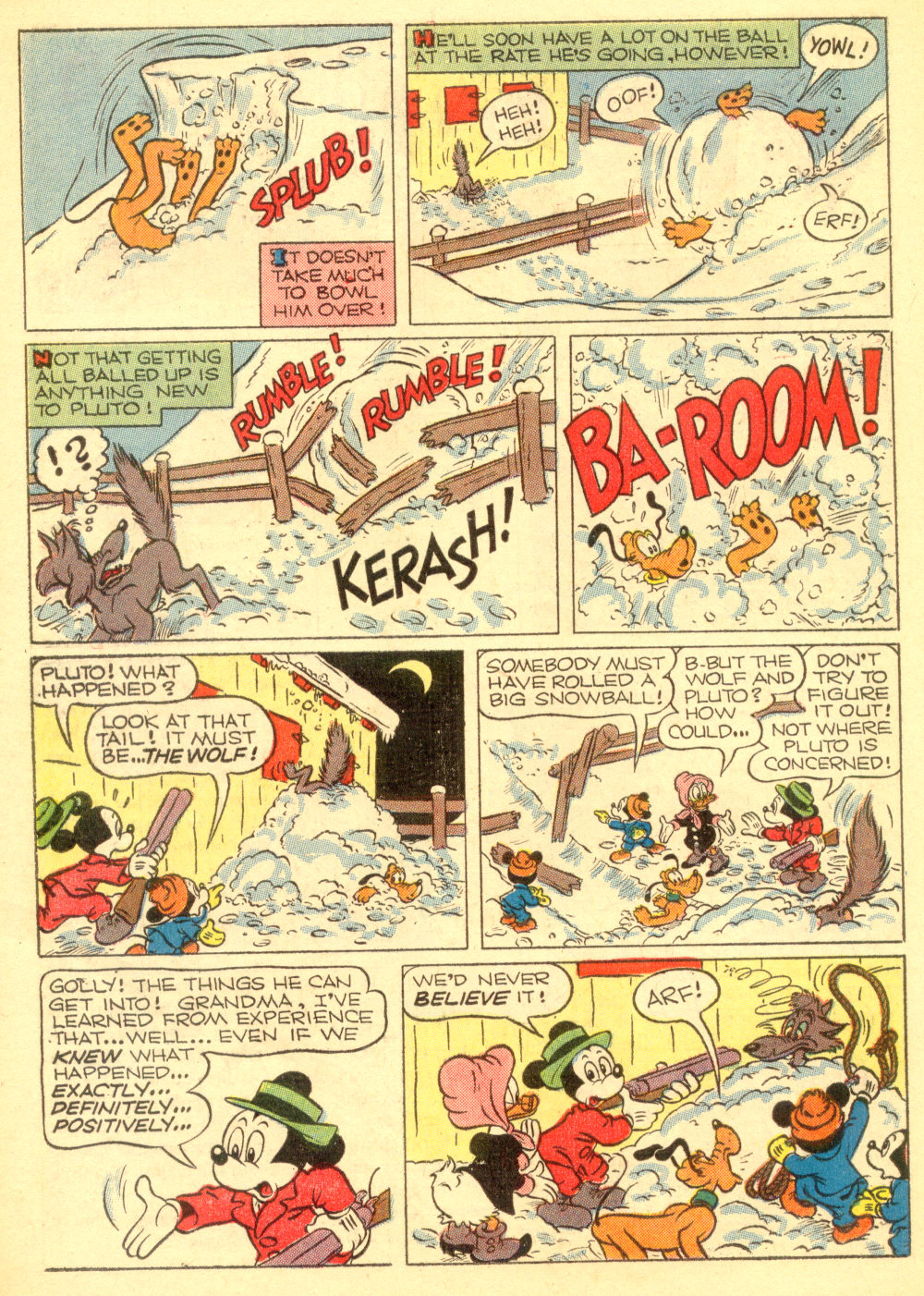 Walt Disney's Comics and Stories issue 196 - Page 22