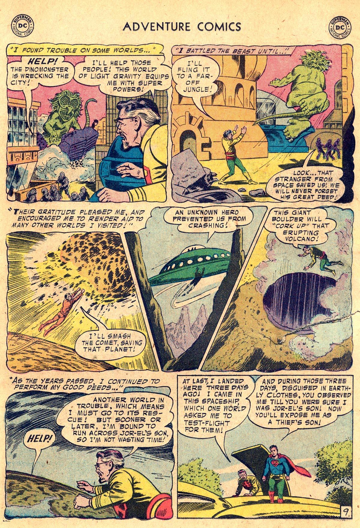 Read online Adventure Comics (1938) comic -  Issue #238 - 11
