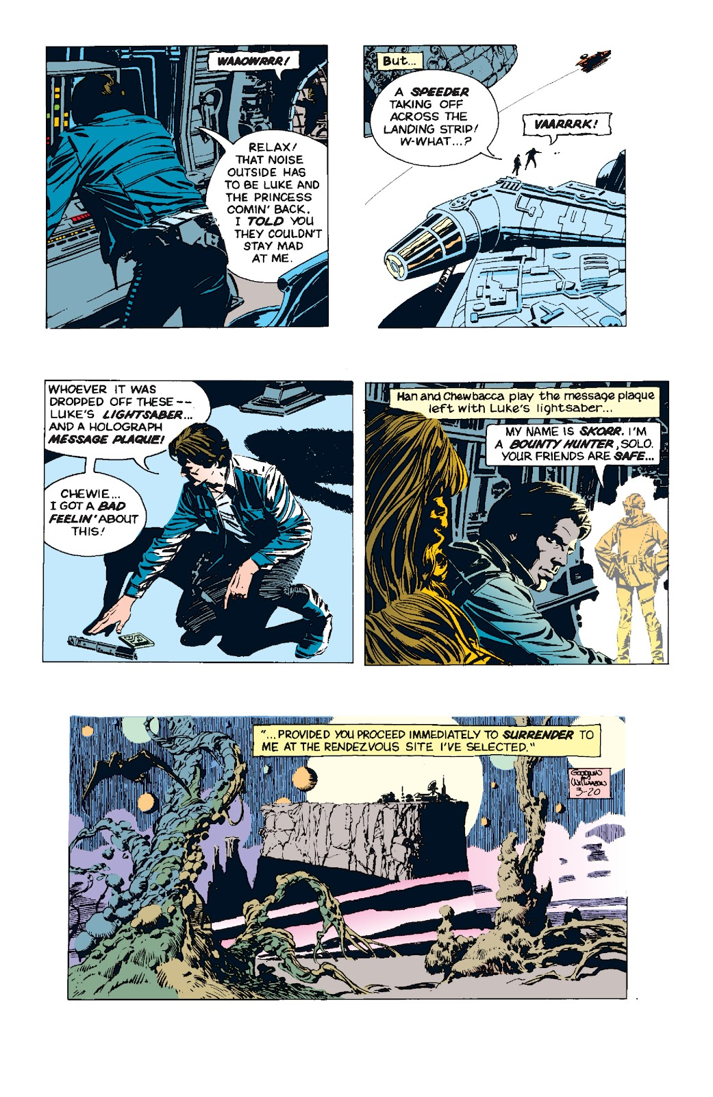 Read online Star Wars Legends: The Newspaper Strips - Epic Collection comic -  Issue # TPB (Part 5) - 5