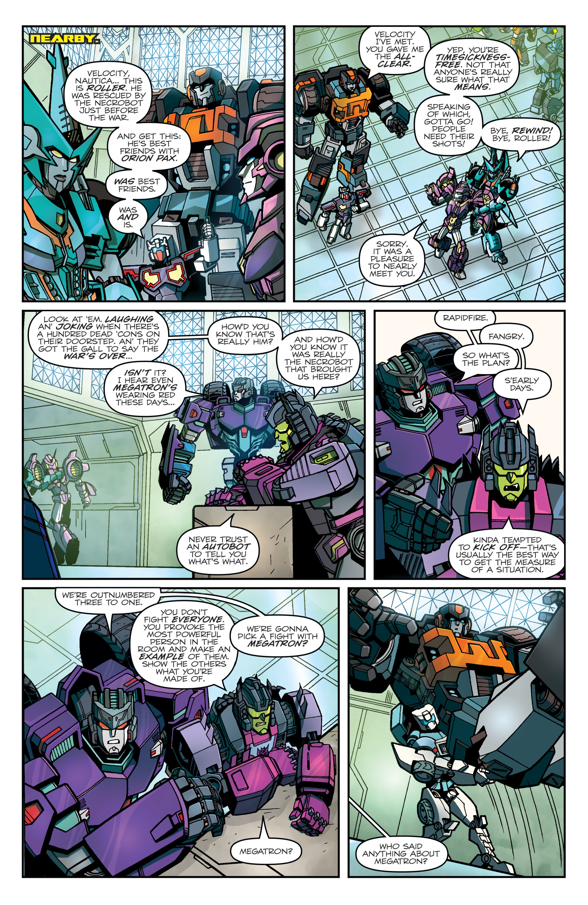 Read online Transformers: Lost Light comic -  Issue #1 - 10