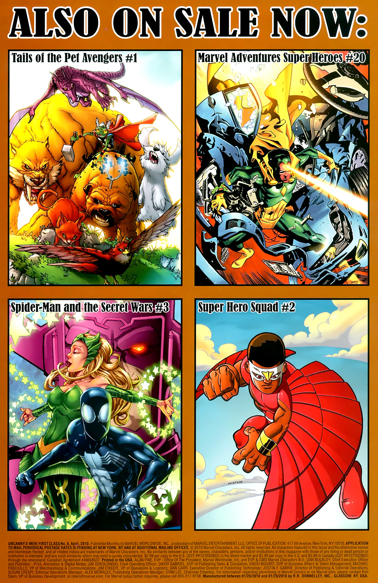 Read online Uncanny X-Men: First Class comic -  Issue #8 - 23