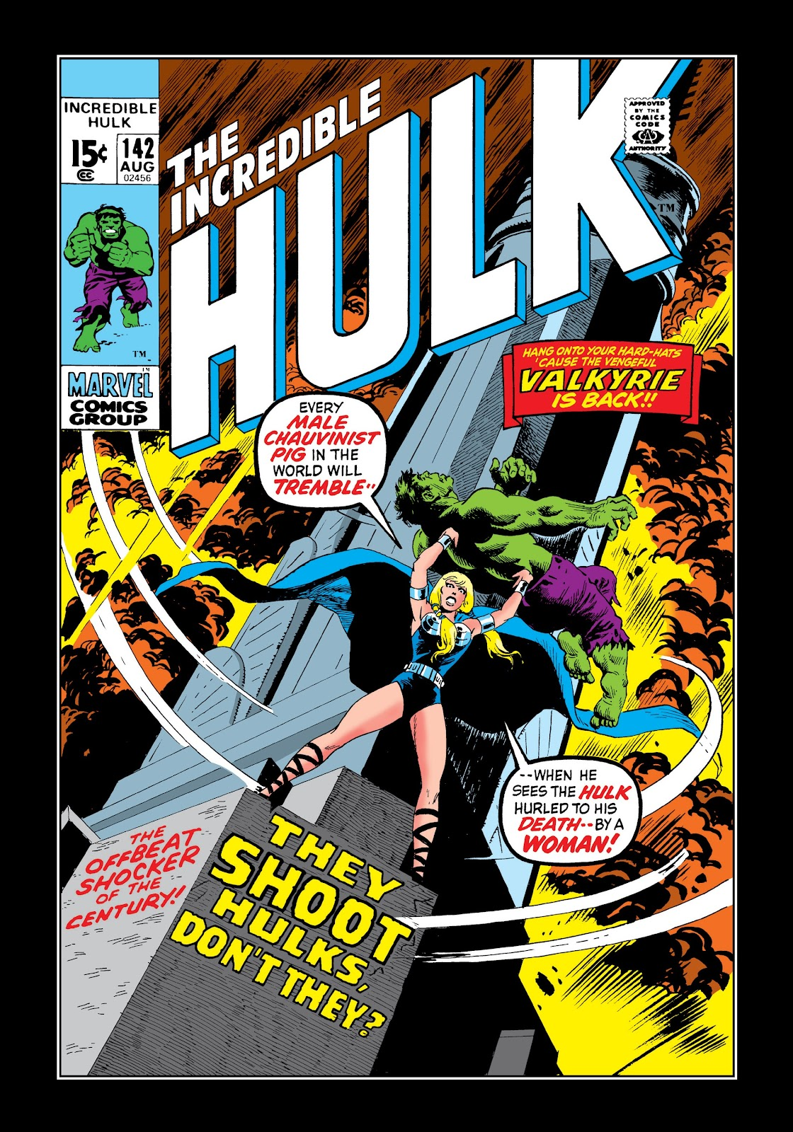 Read online Marvel Masterworks: The Incredible Hulk comic -  Issue # TPB 7 (Part 2) - 67