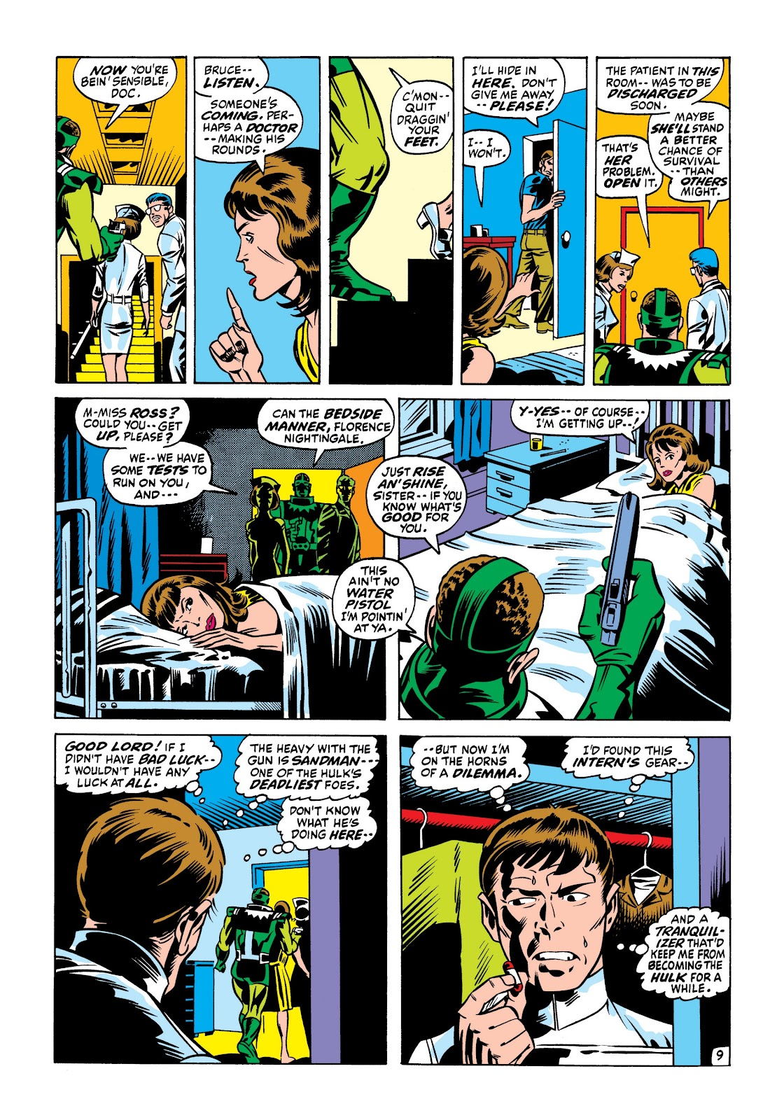Read online Marvel Masterworks: The Incredible Hulk comic -  Issue # TPB 7 (Part 1) - 76