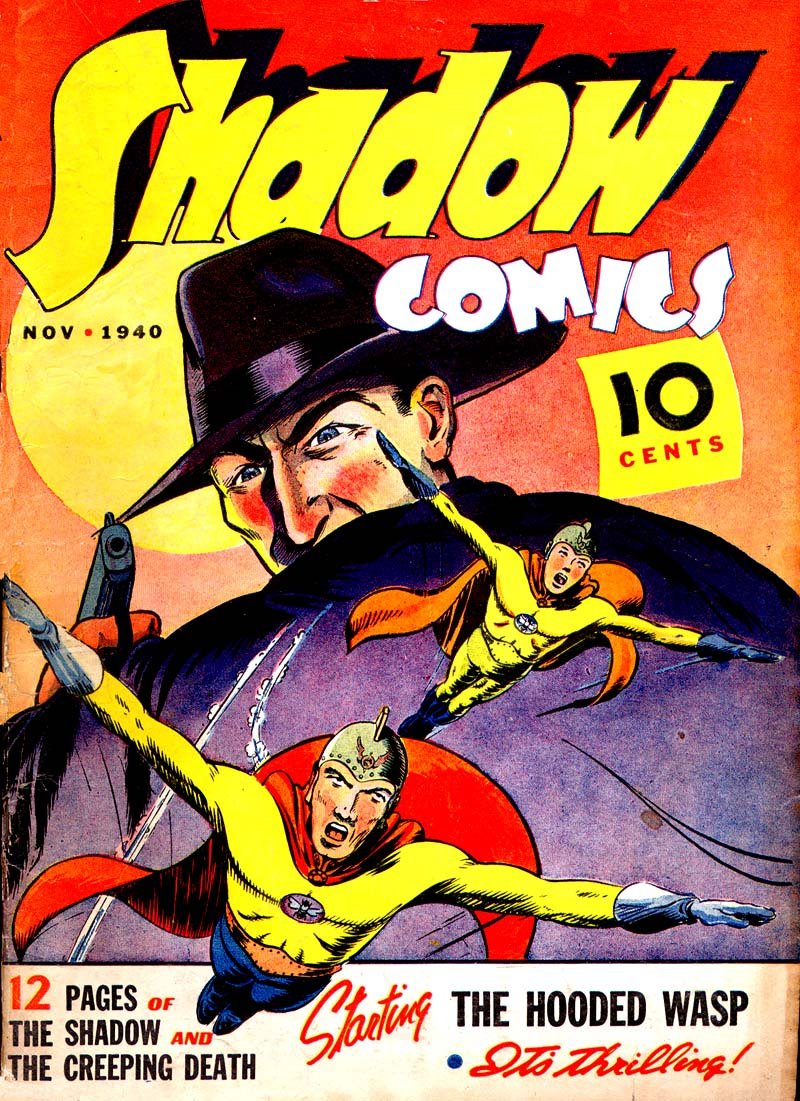 Read online Shadow Comics comic -  Issue #7 - 1