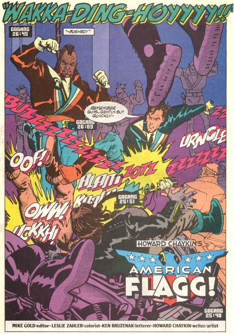 Read online American Flagg! comic -  Issue #11 - 8