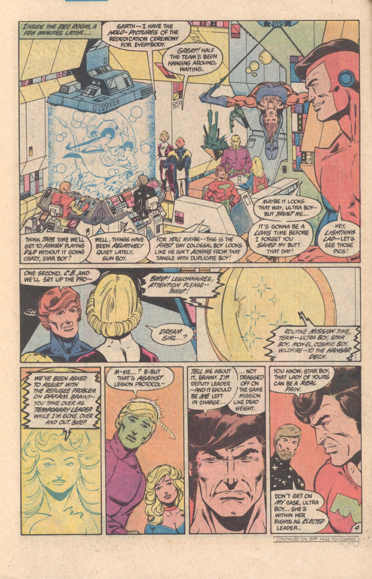 Legion of Super-Heroes (1980) 301 Page 4