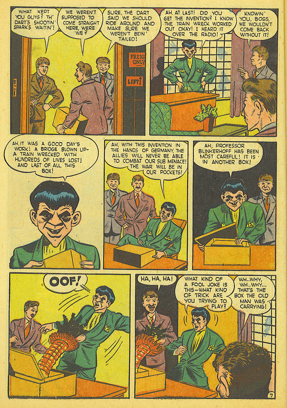 Daredevil (1941) issue 21 - Page 8