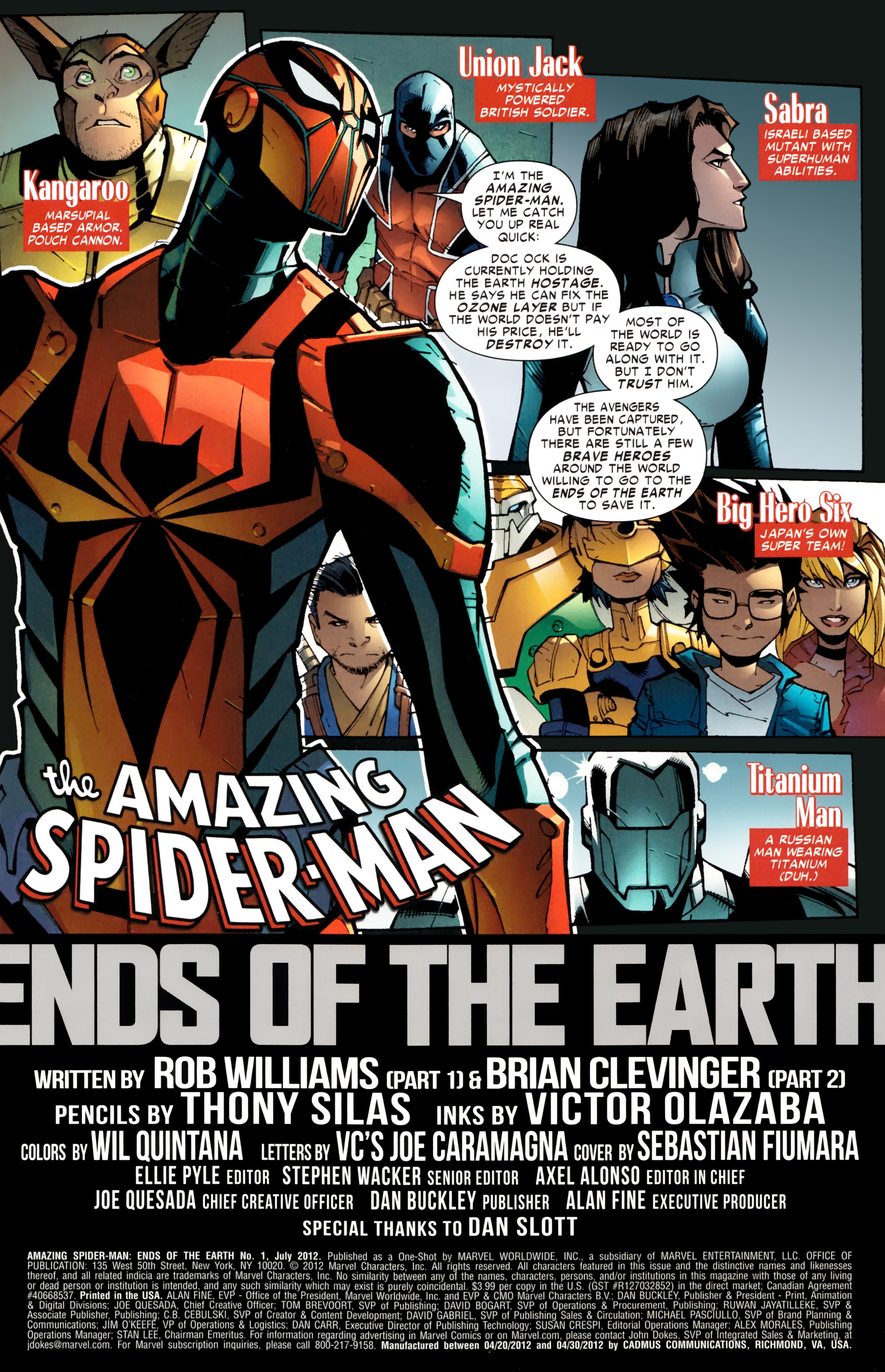 Amazing Spider-Man: Ends of the Earth Full Page 2