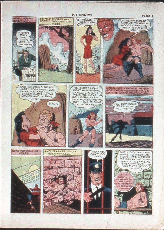 Read online Hit Comics comic -  Issue #10 - 11