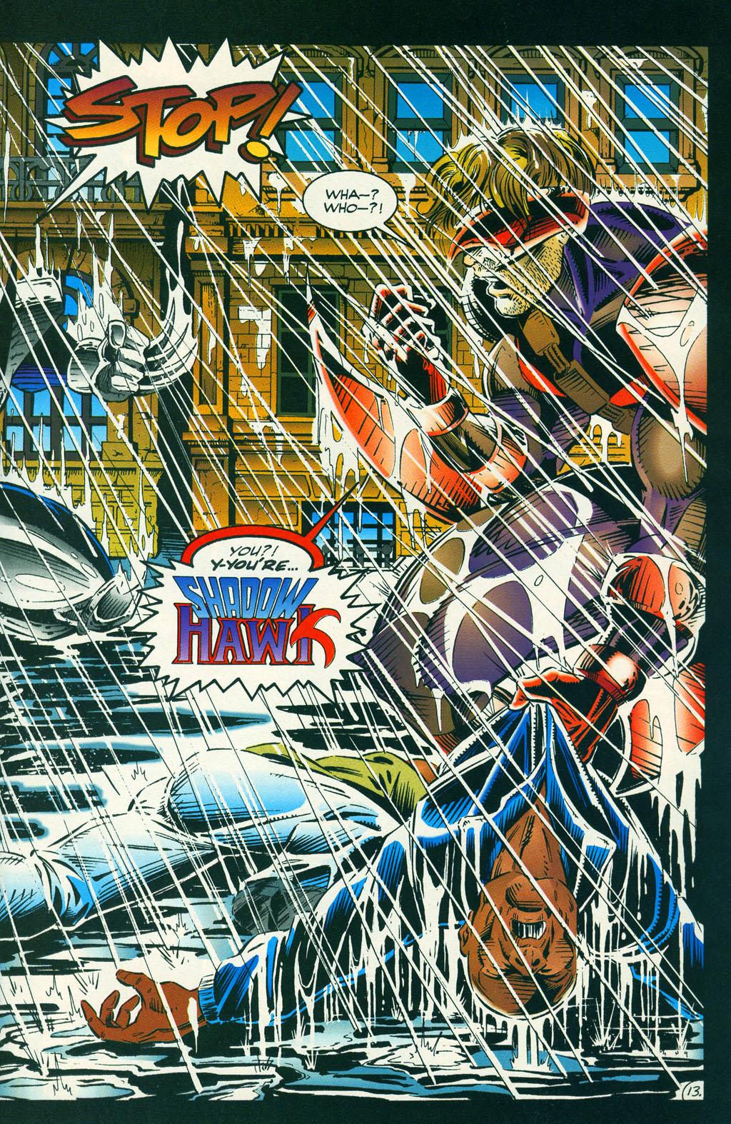 Read online ShadowHawk comic -  Issue #6 - 18
