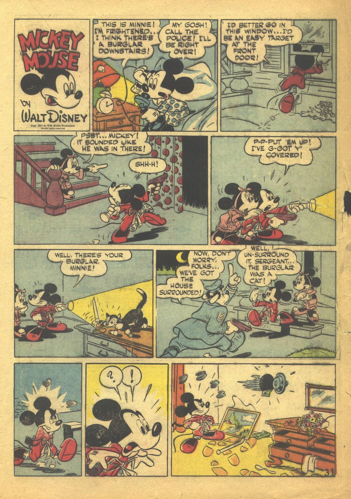 Walt Disney's Comics and Stories issue 41 - Page 33