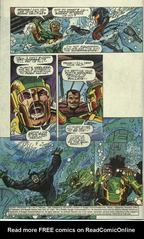 Read online Secret Weapons comic -  Issue #17 - 3