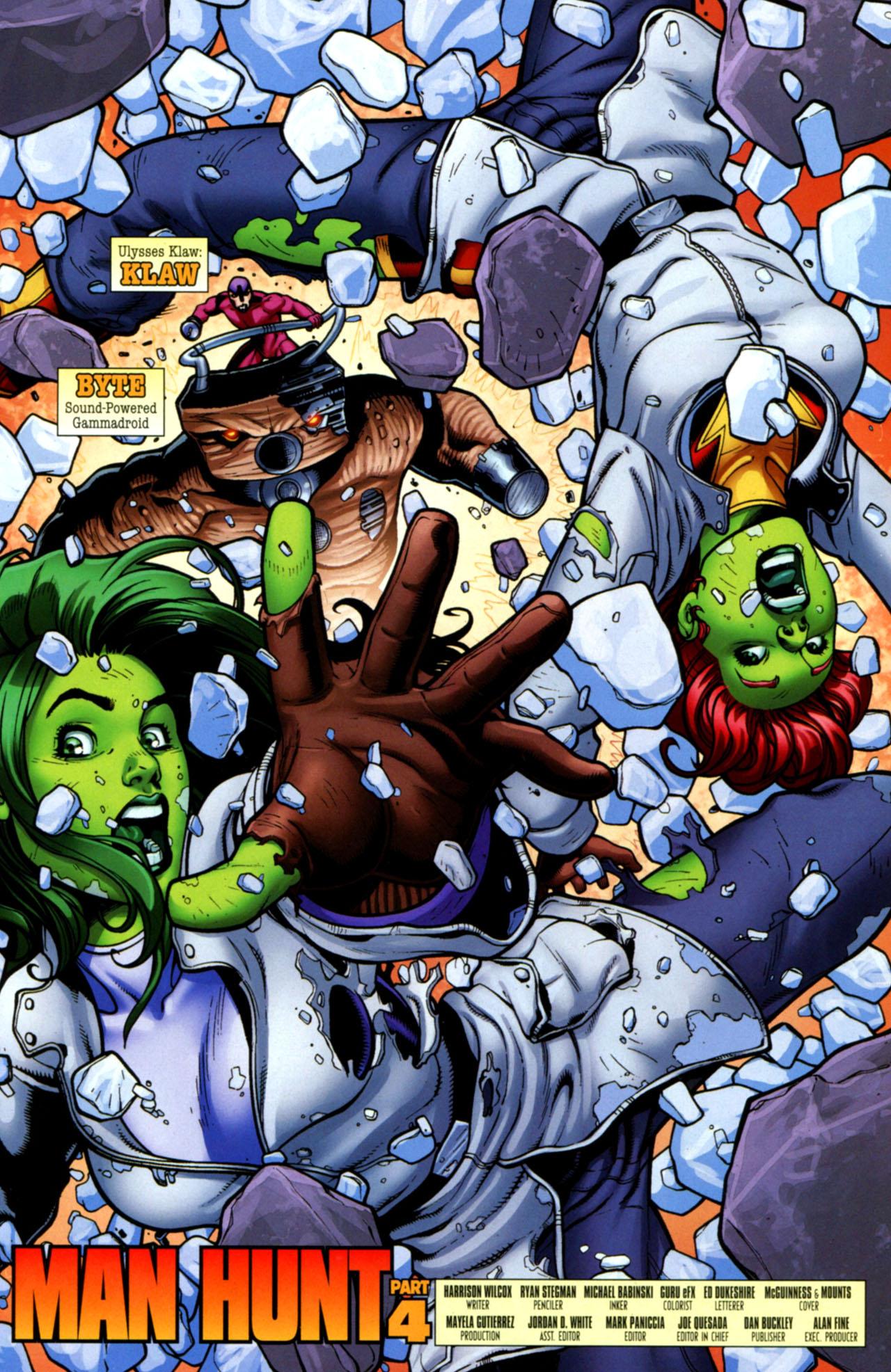 Read online She-Hulks comic -  Issue #4 - 4