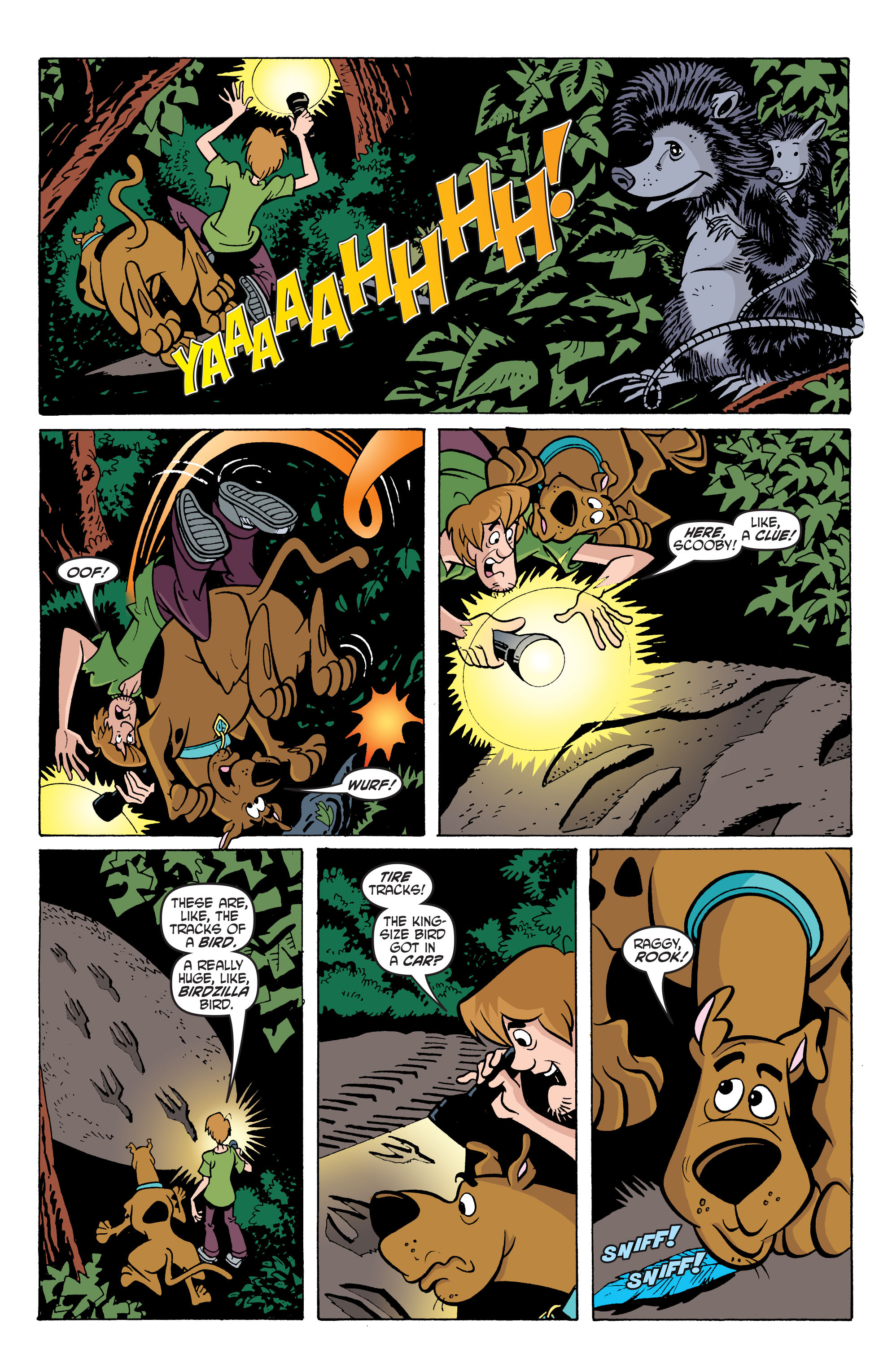 Read online Scooby-Doo: Where Are You? comic -  Issue #66 - 17