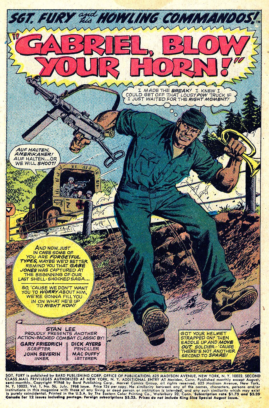 Read online Sgt. Fury comic -  Issue #56 - 3