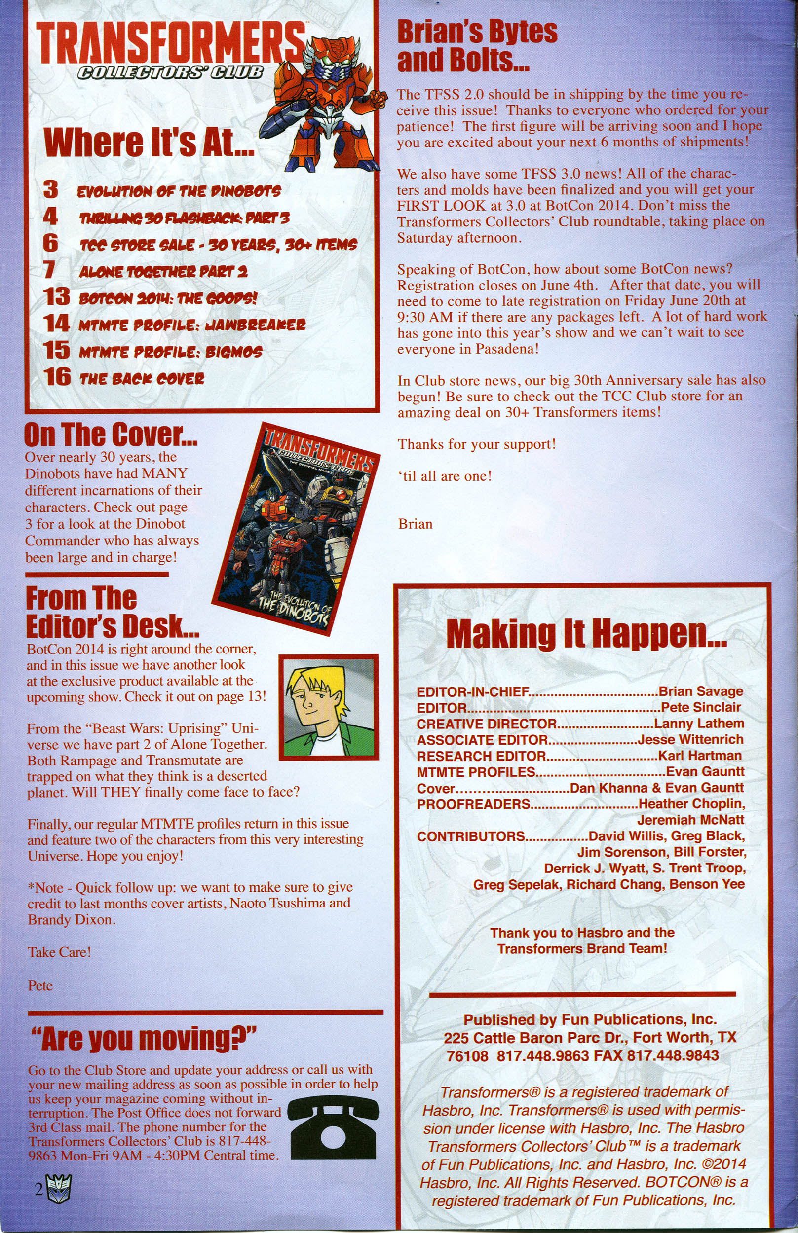 Read online Transformers: Collectors' Club comic -  Issue #57 - 2