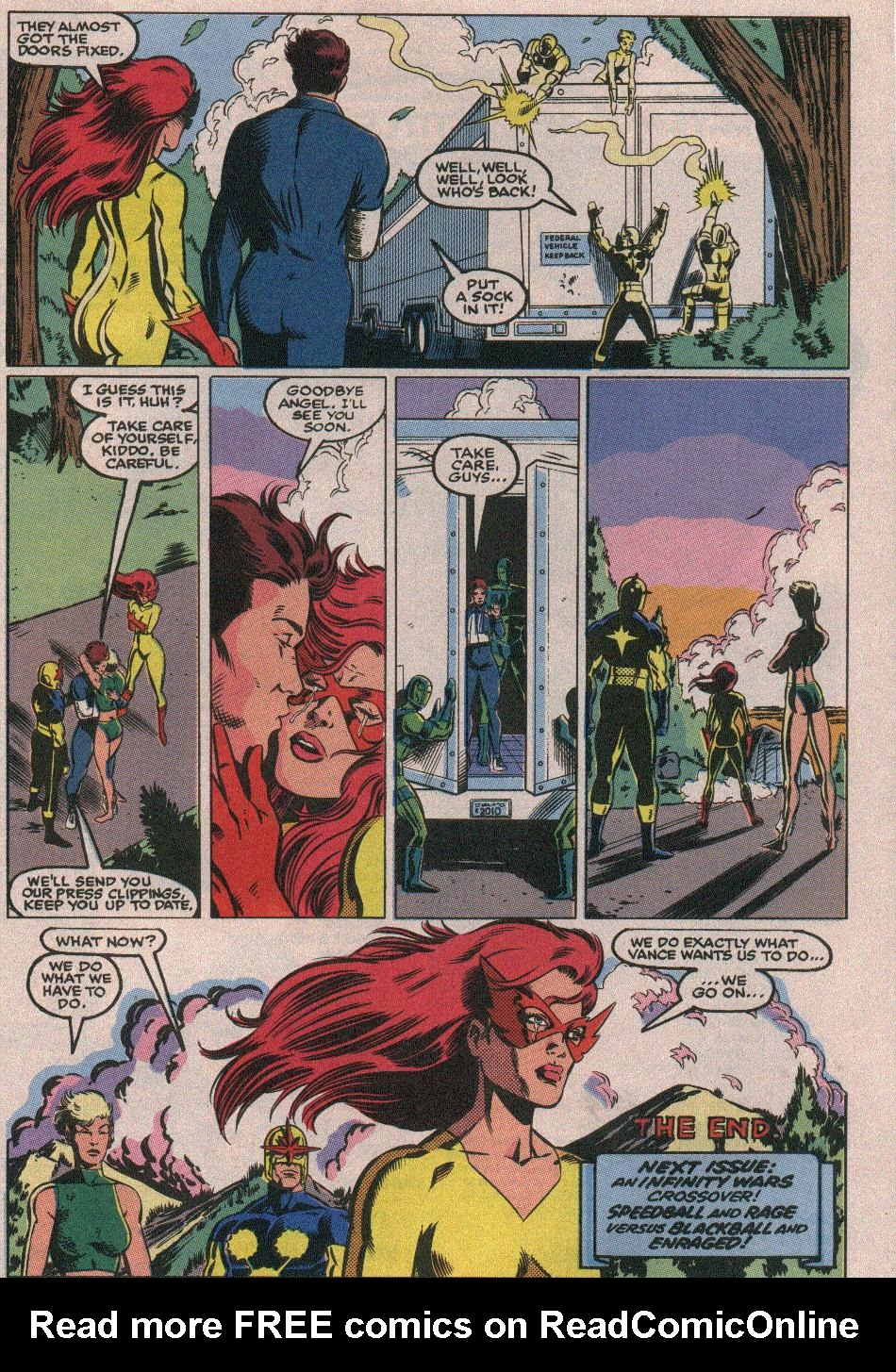 The New Warriors Issue #26 #30 - English 24