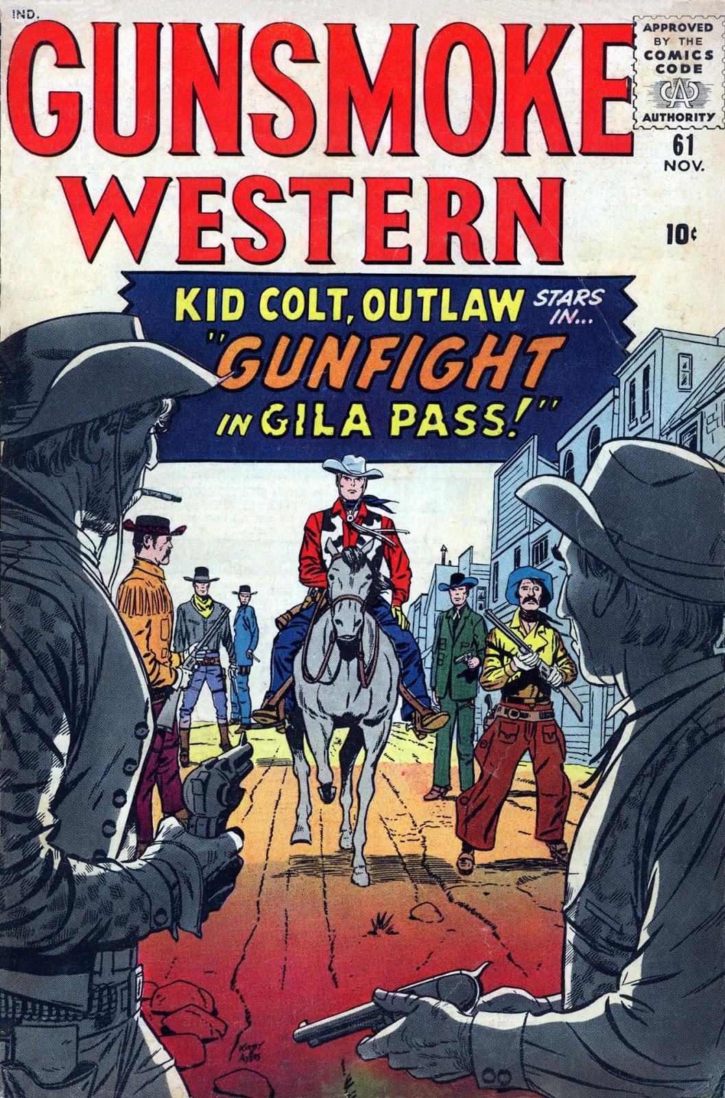 Gunsmoke Western issue 61 - Page 1