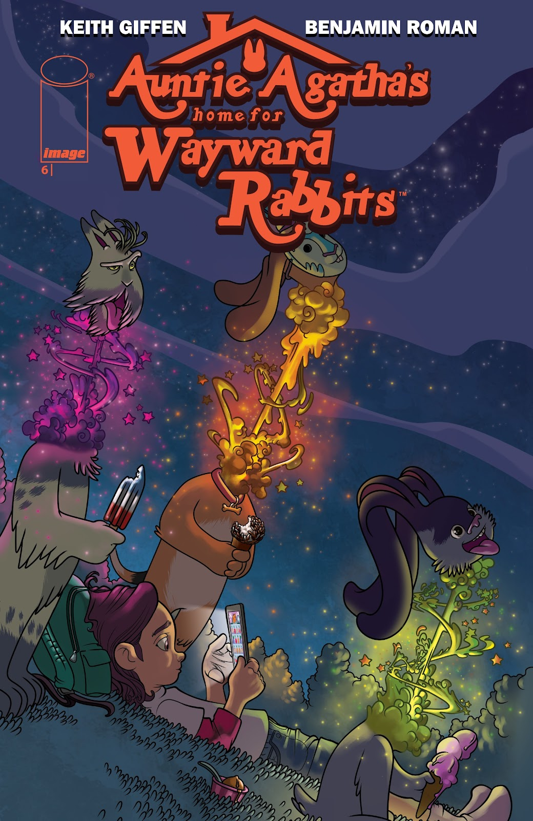 Read online Auntie Agatha's Home For Wayward Rabbits comic -  Issue #6 - 1