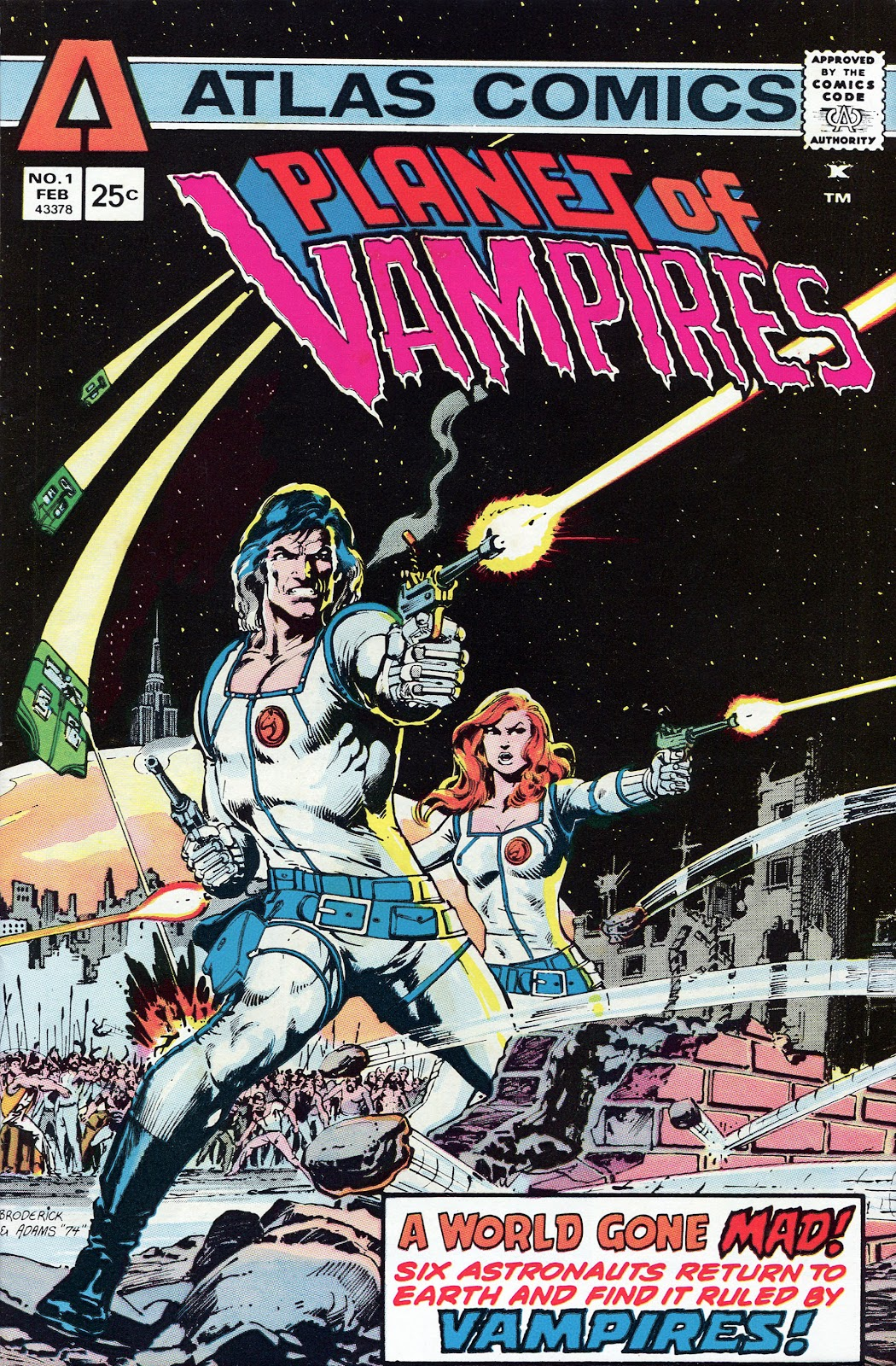 Read online Planet of Vampires comic -  Issue #1 - 1