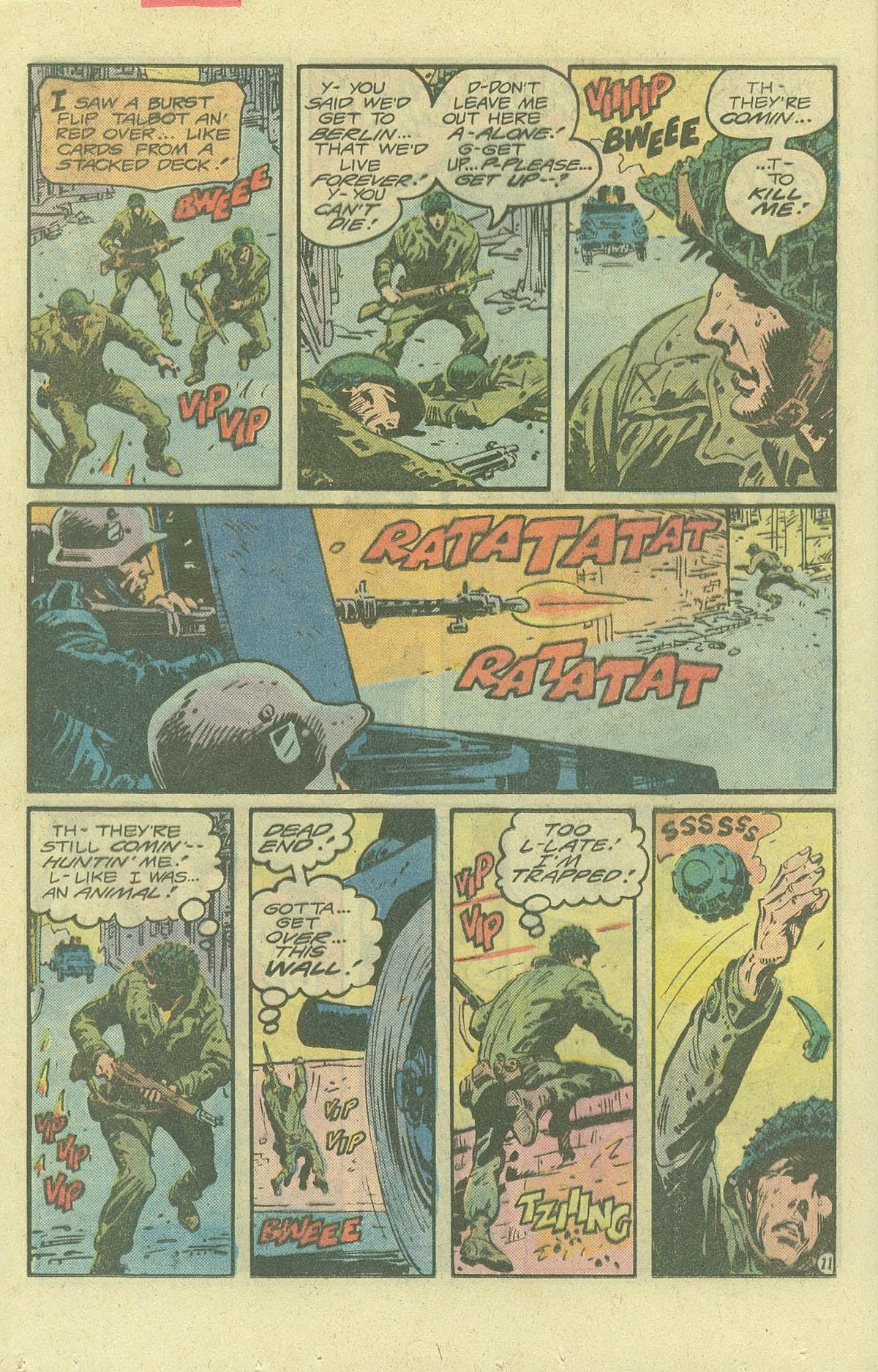 Read online Sgt. Rock comic -  Issue #380 - 15
