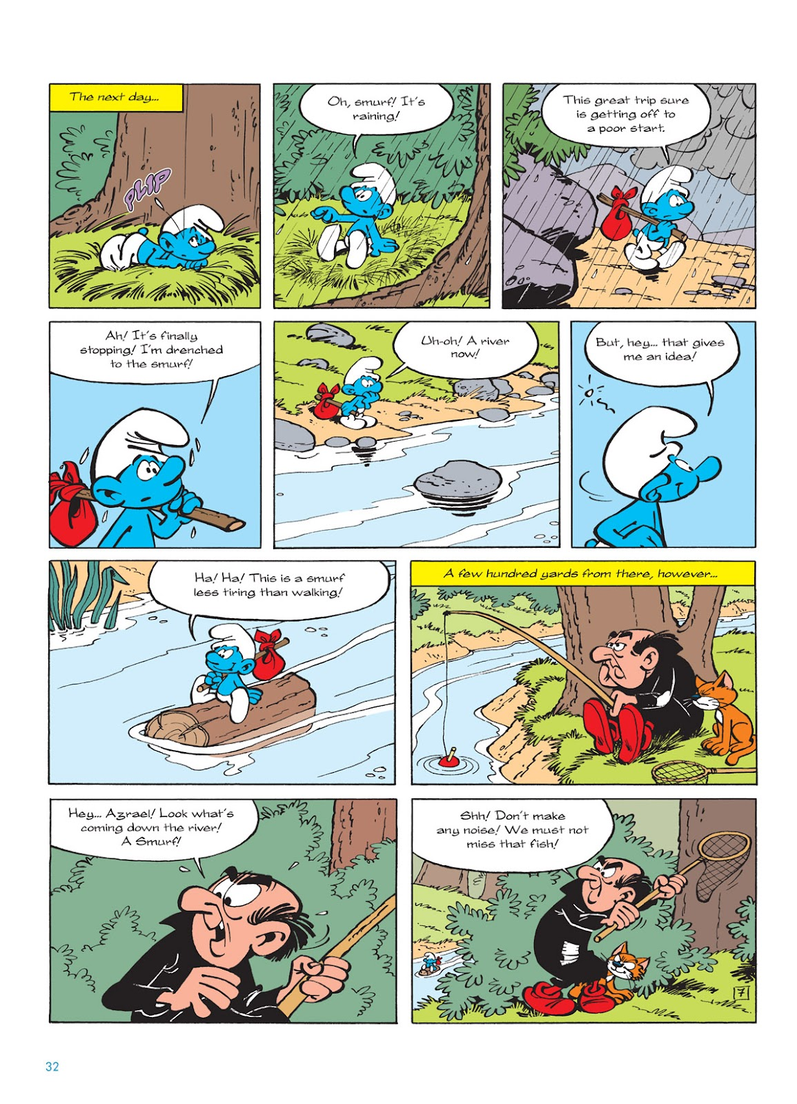 Read online The Smurfs comic -  Issue #9 - 32