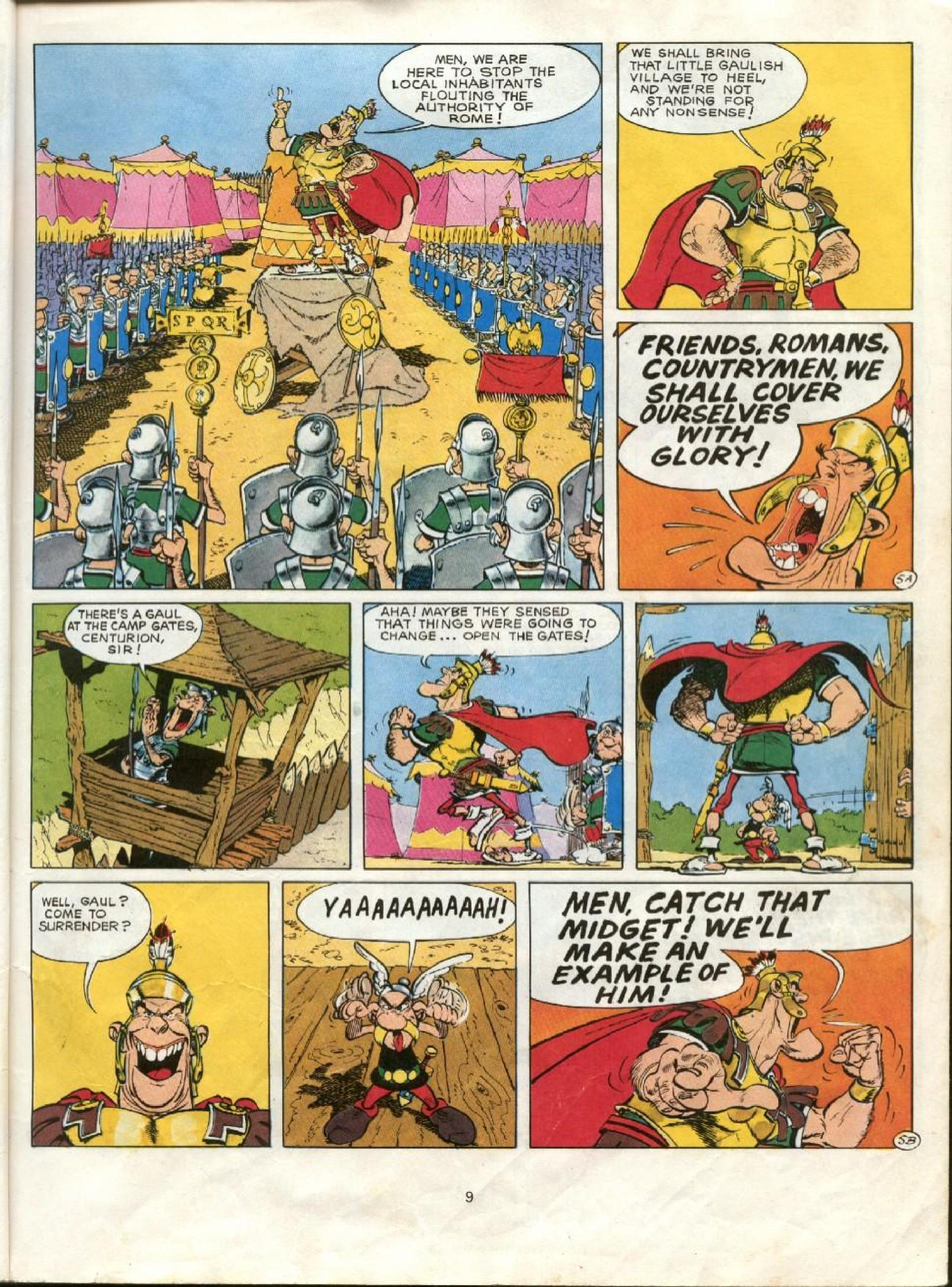 Read online Asterix comic -  Issue #23 - 6