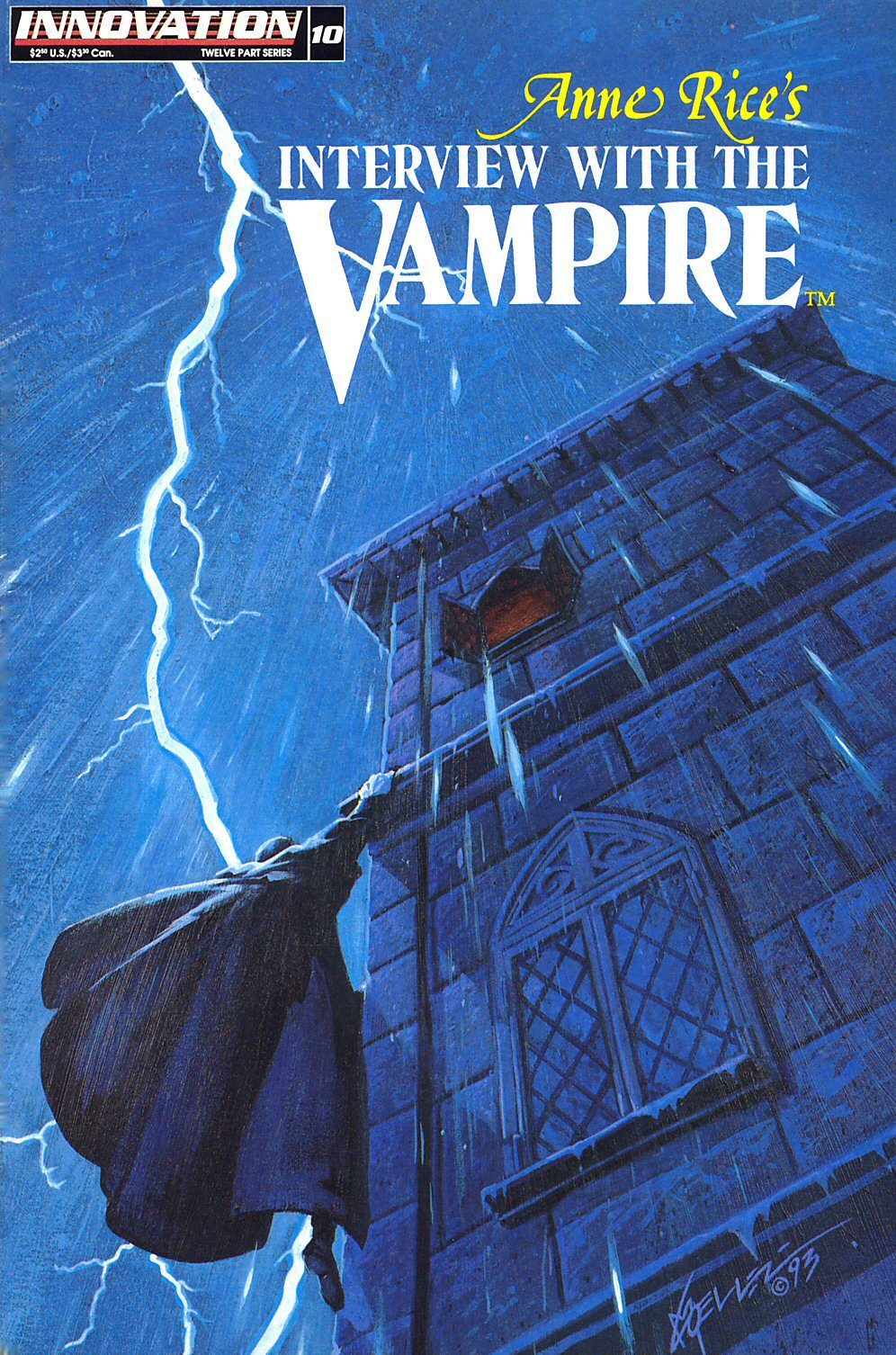 Read online Anne Rice's Interview with the Vampire comic -  Issue #10 - 1
