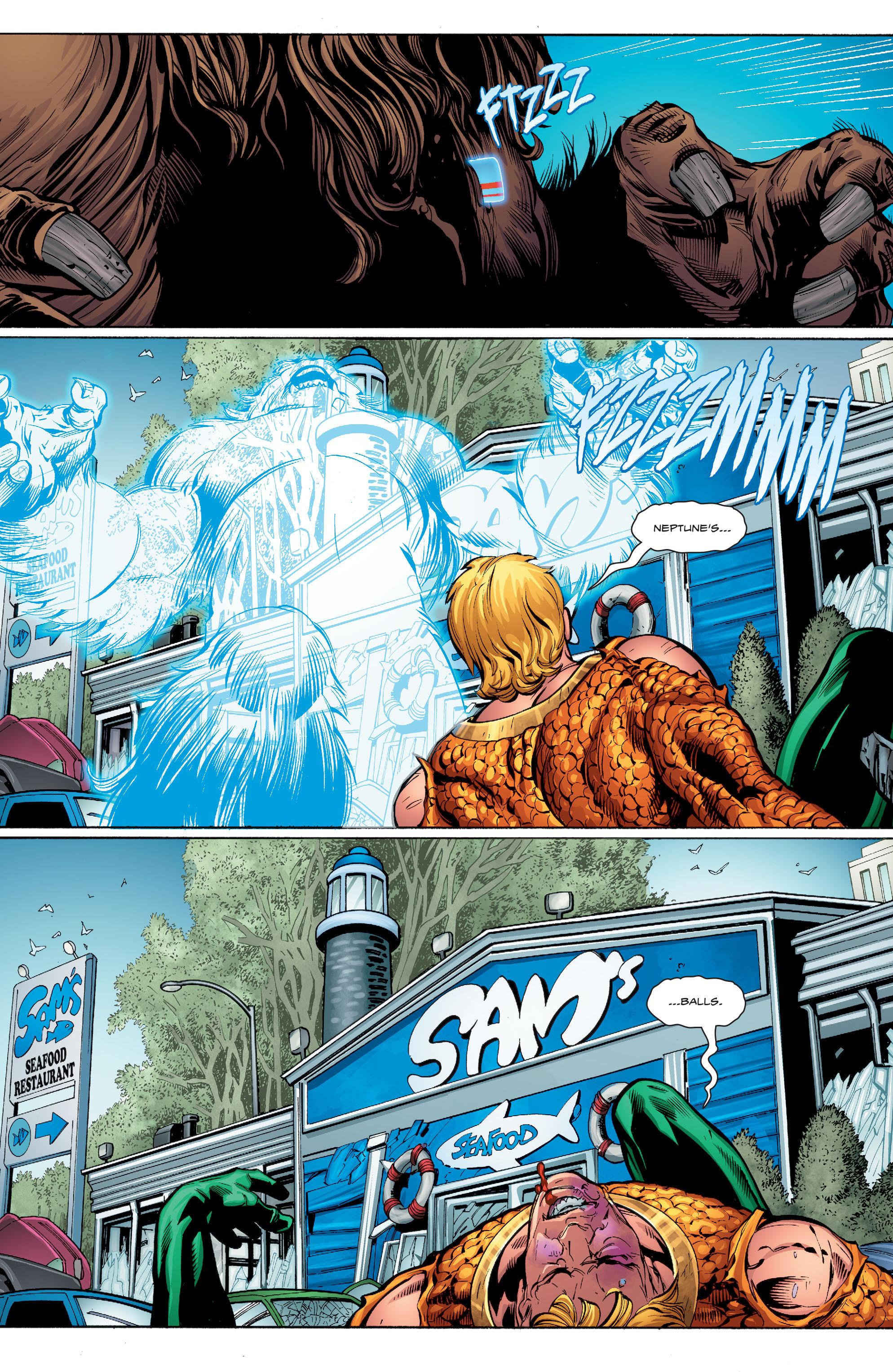 Read online Aquaman (2016) comic -  Issue #9 - 20