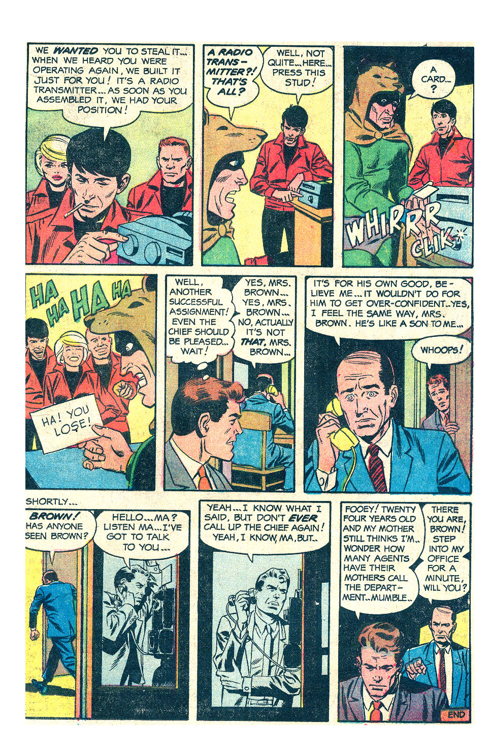 T.H.U.N.D.E.R. Agents (1965) issue 17 - Page 15