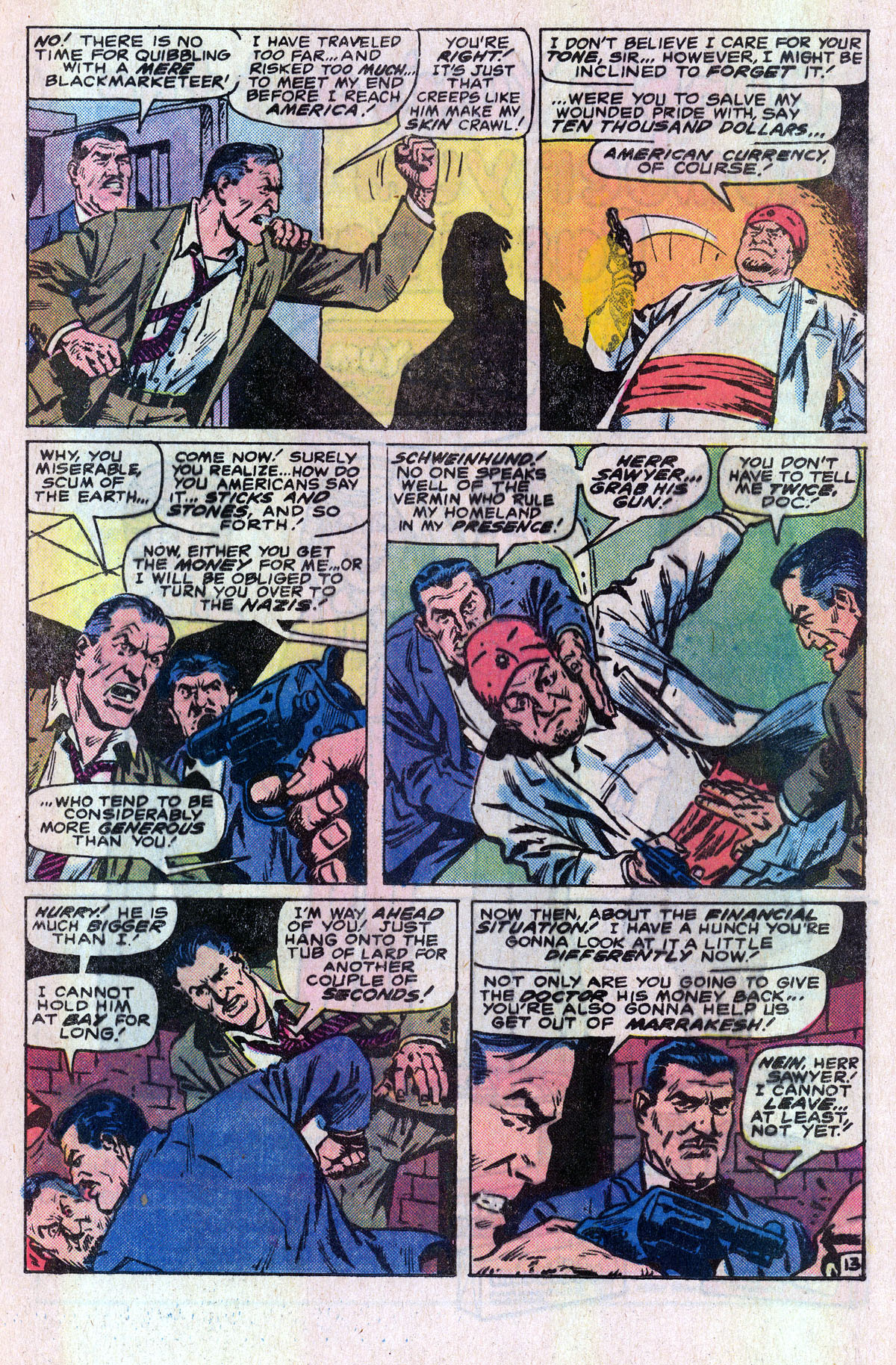 Read online Sgt. Fury comic -  Issue #166 - 20
