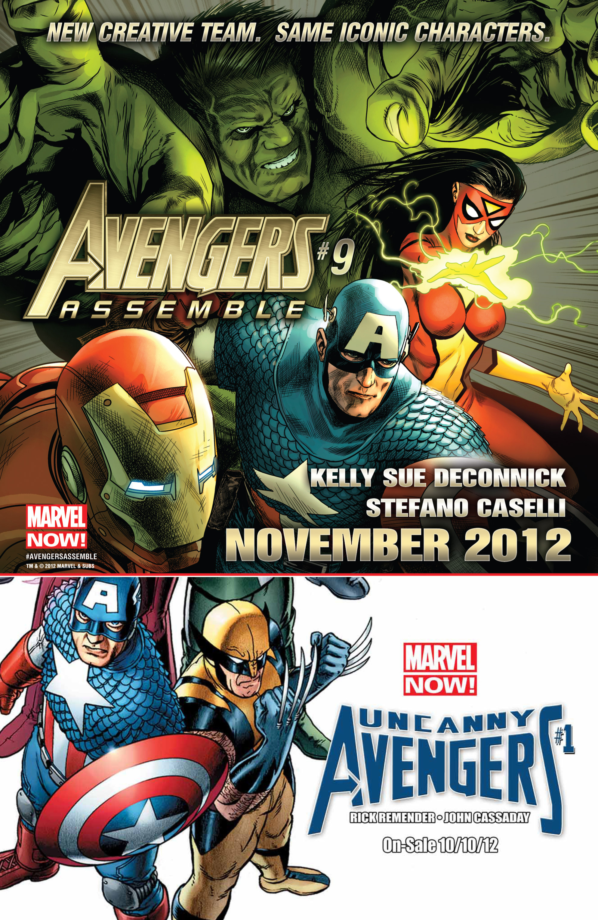 Read online Avengers (2010) comic -  Issue #31 - 21