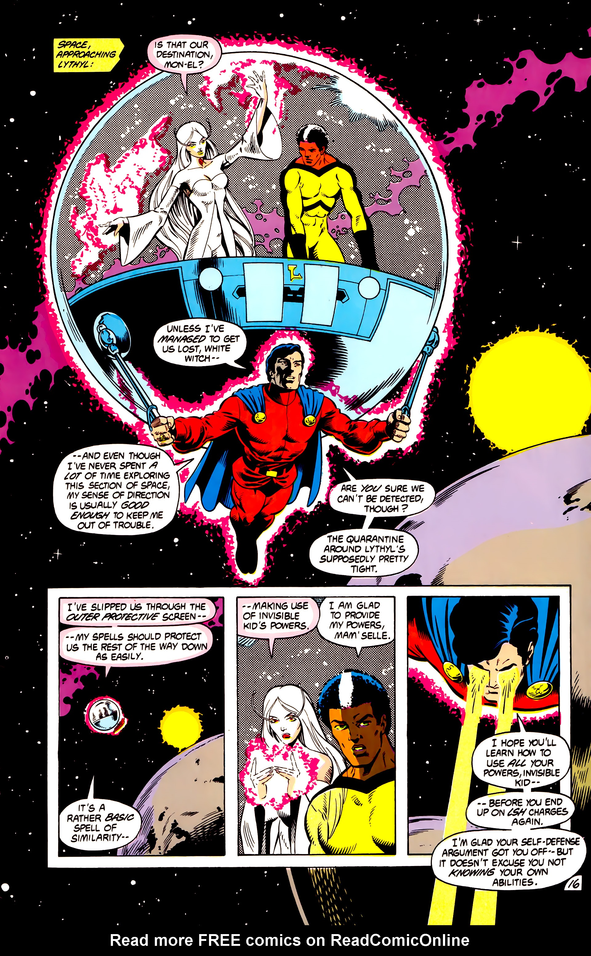 Legion of Super-Heroes (1984) 13 Page 17