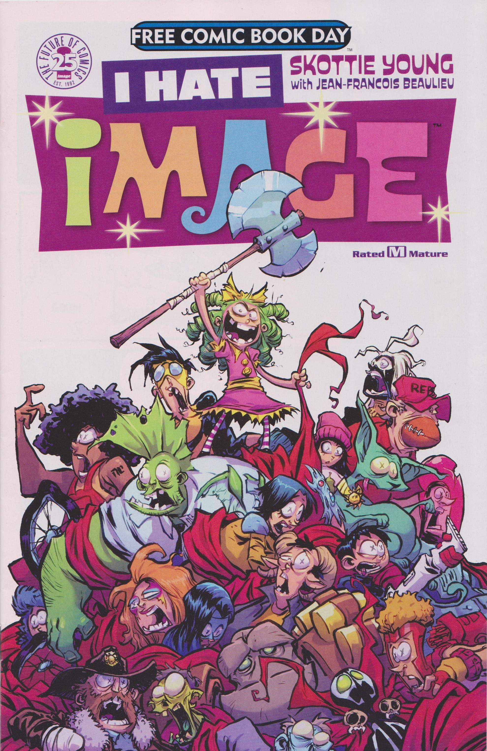 Read online Free Comic Book Day 2017 comic -  Issue # I Hate Image - 1