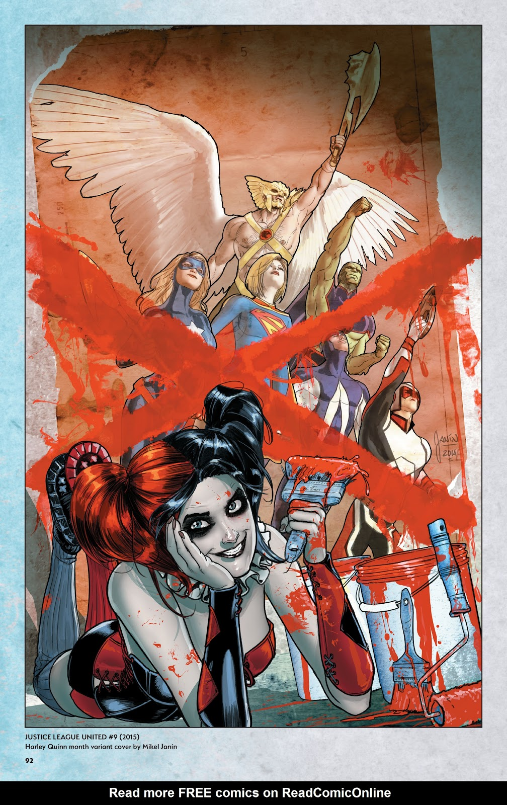 Read online Harley Quinn: A Rogue's Gallery―The Deluxe Cover Art Collection comic -  Issue # TPB (Part 1) - 89