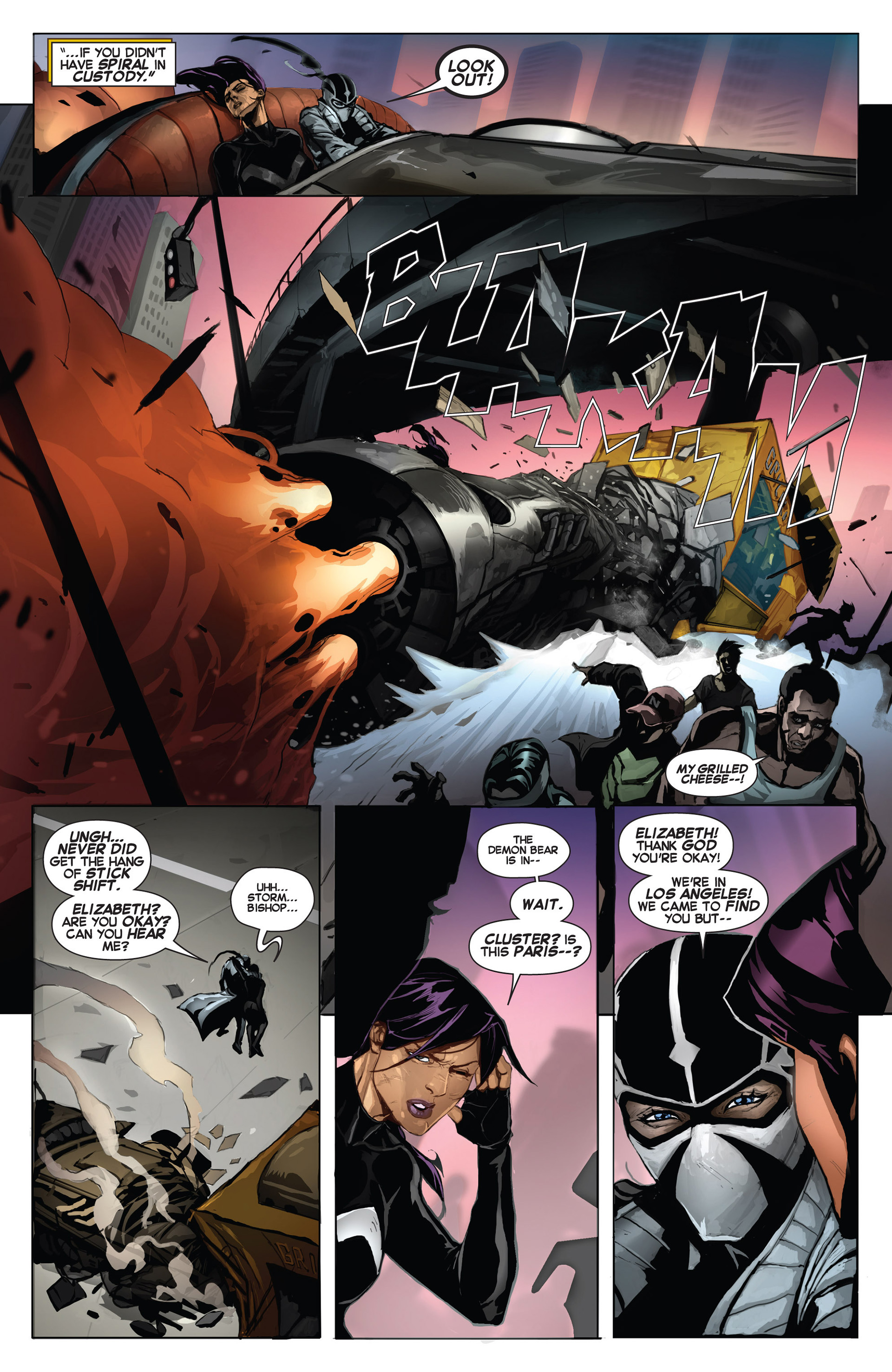 Read online Uncanny X-Force (2013) comic -  Issue #6 - 6