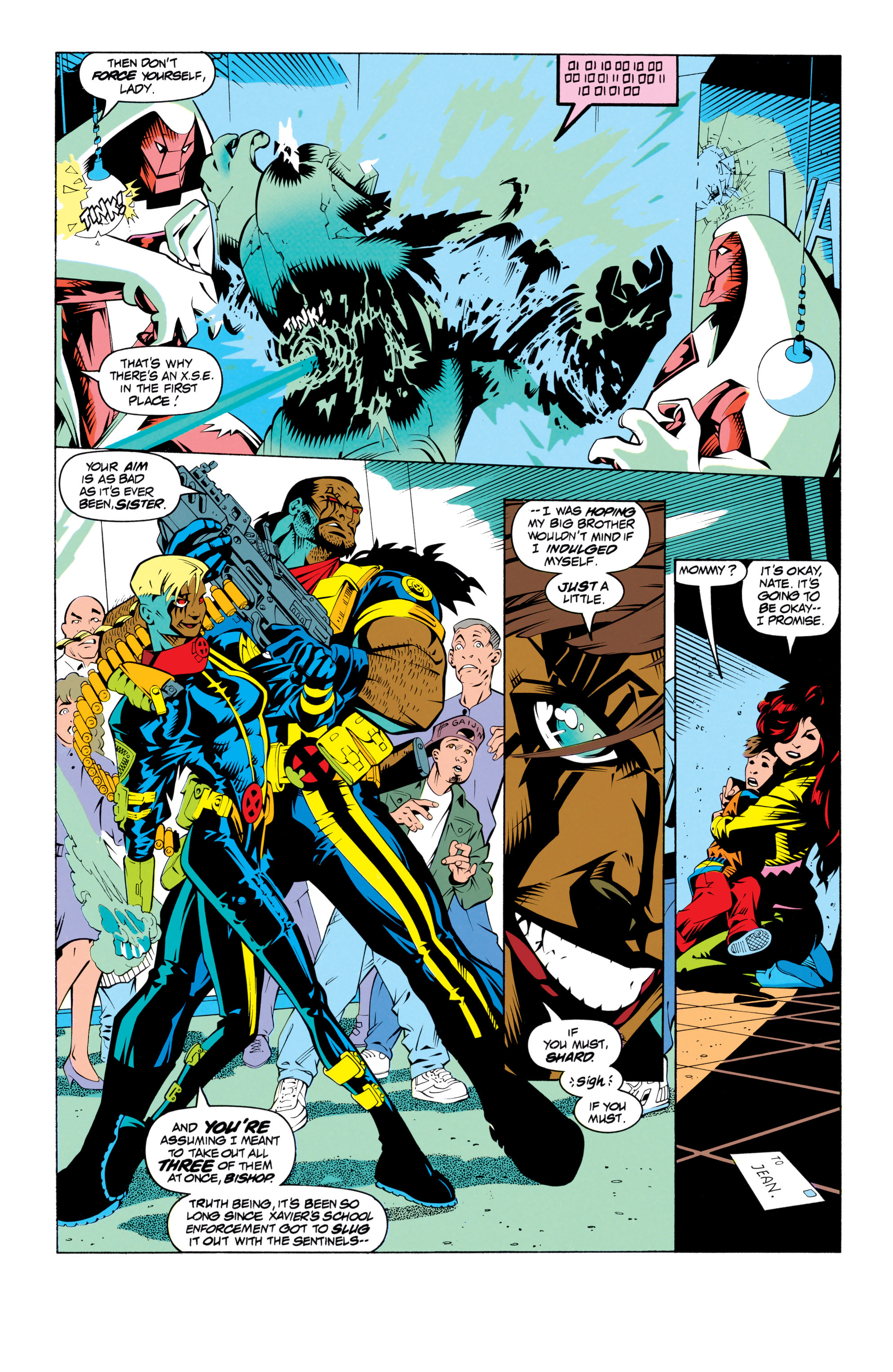Read online Uncanny X-Men (1963) comic -  Issue # _Annual 17 - 9