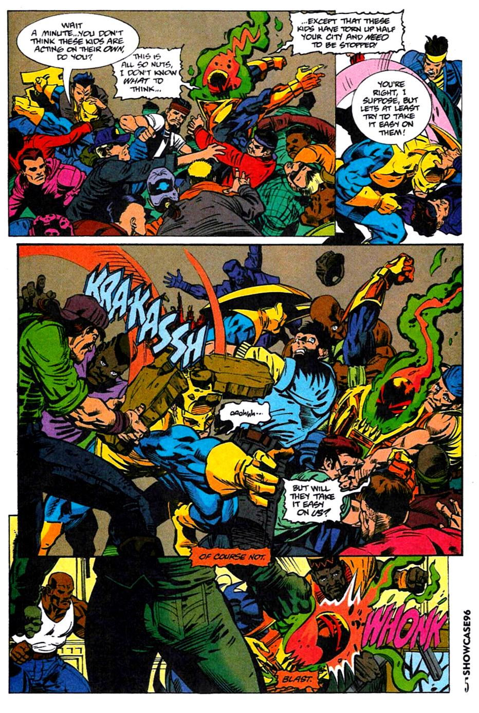 Read online Showcase '96 comic -  Issue #4 - 5