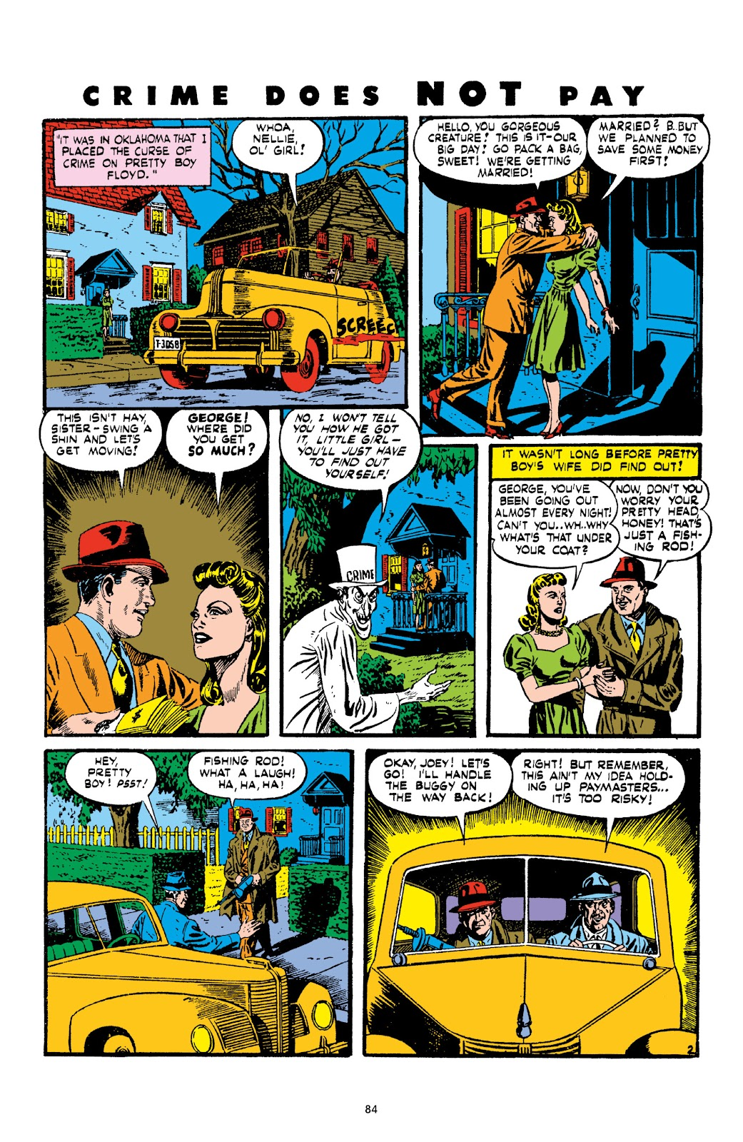 Read online Crime Does Not Pay Archives comic -  Issue # TPB 2 (Part 1) - 84