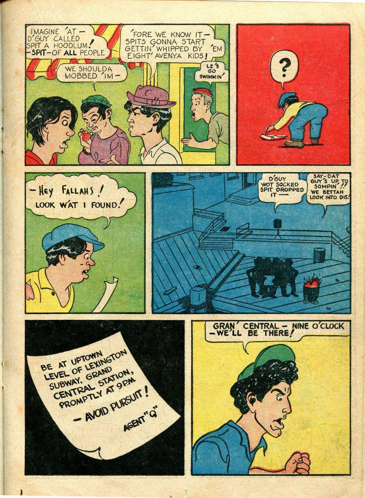 Read online Shadow Comics comic -  Issue #10 - 29