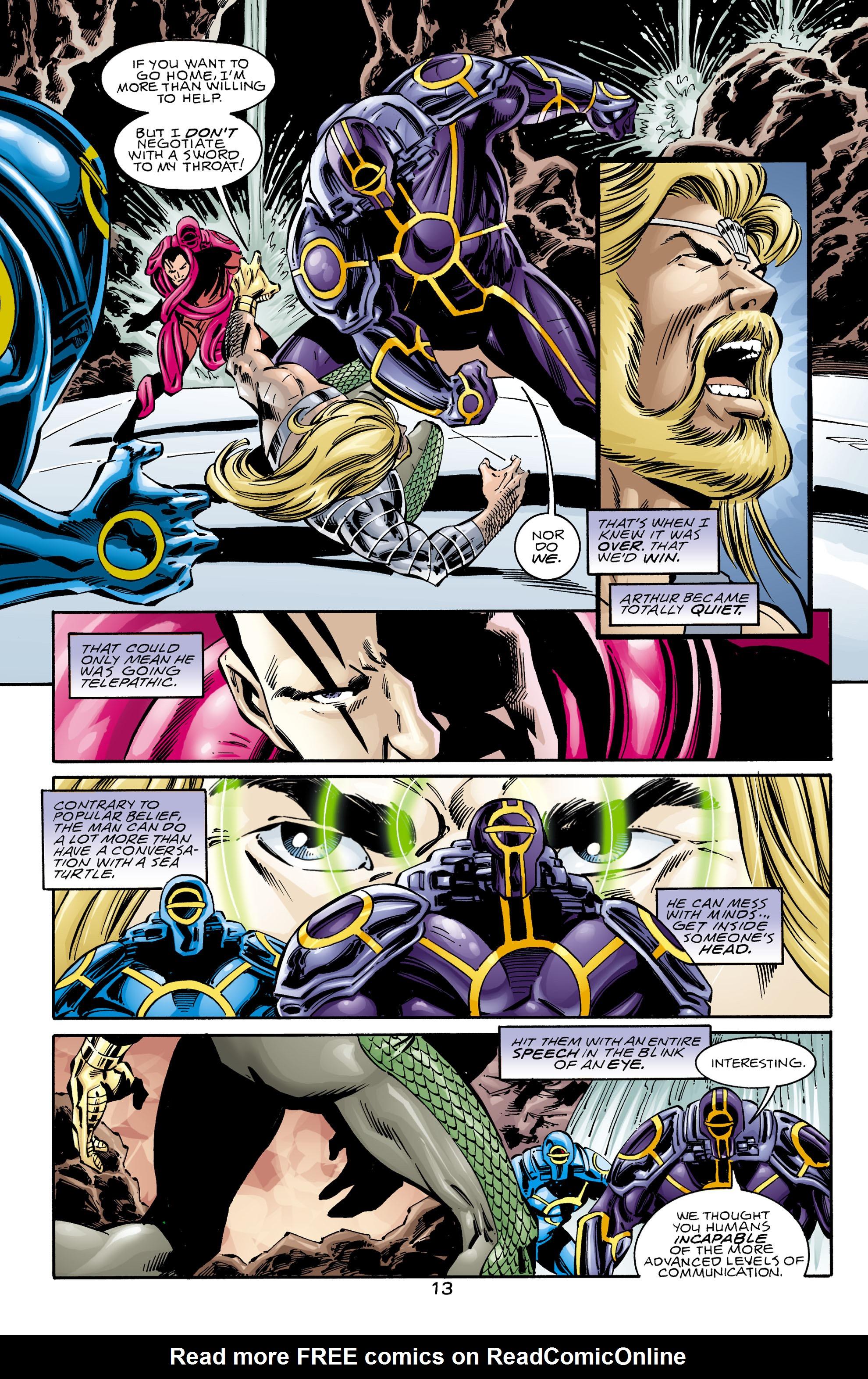 Read online Aquaman (1994) comic -  Issue #75 - 13