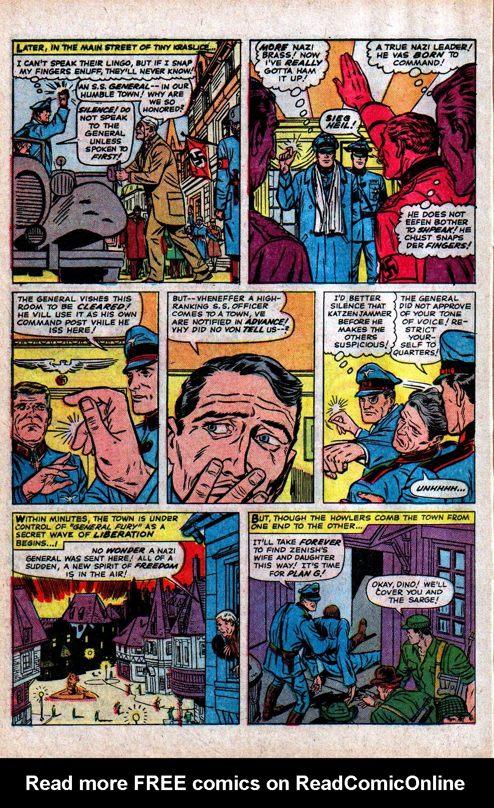 Read online Sgt. Fury comic -  Issue #21 - 10