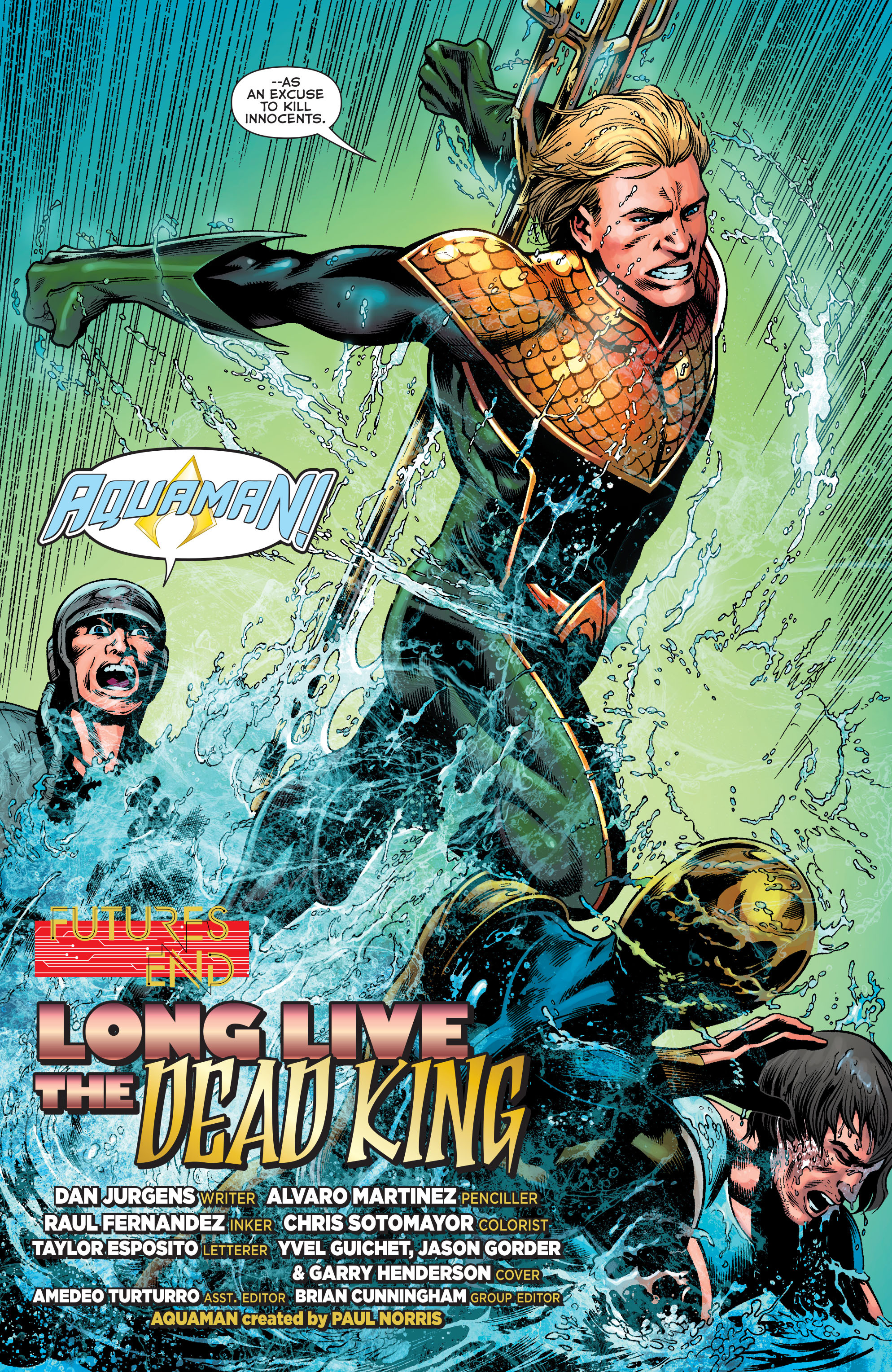 Read online Aquaman: Futures End comic -  Issue #Aquaman: Futures End Full - 5